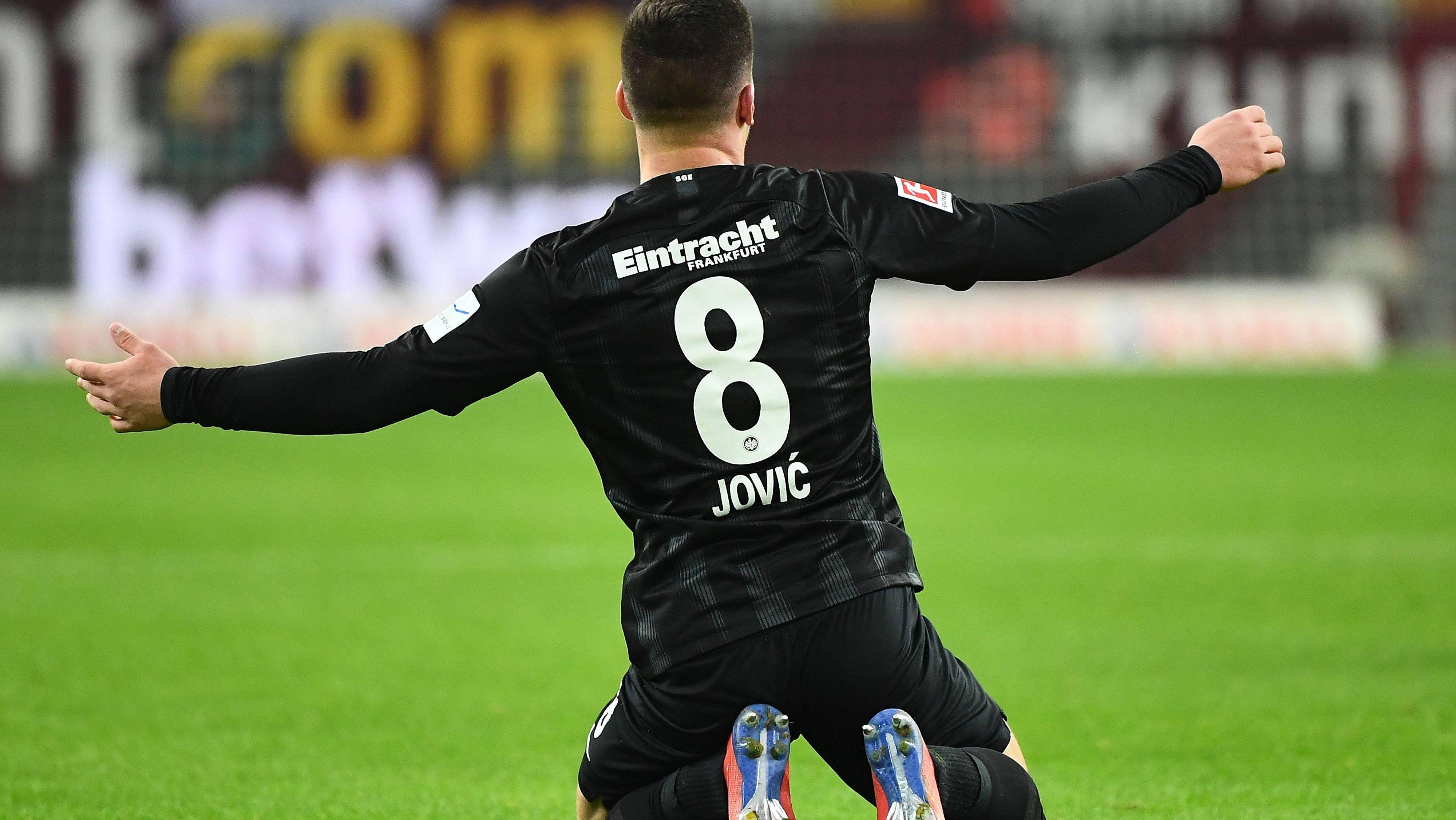 """Enormes Potenzial"": Jovic lässt Taten sprechen"