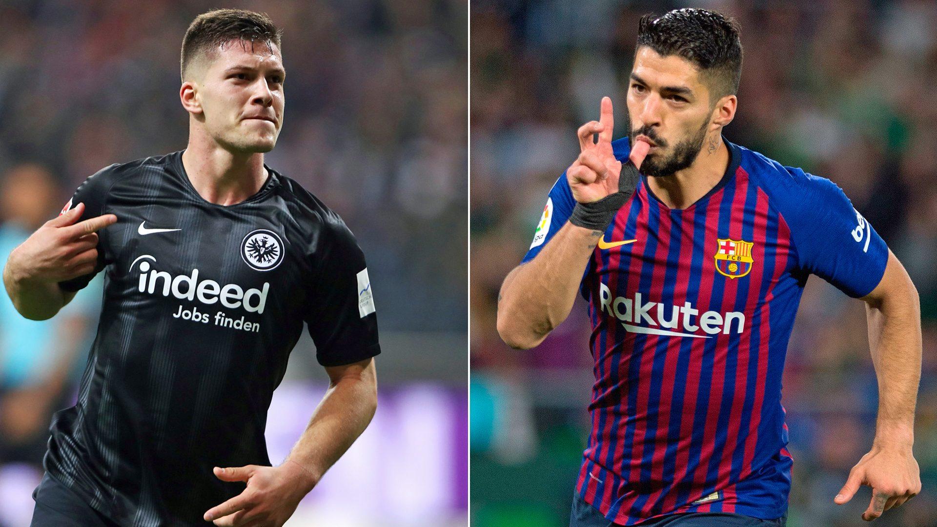 """""""Luka Jovic es como Luis Suárez"""", según el DT de Serbia"""