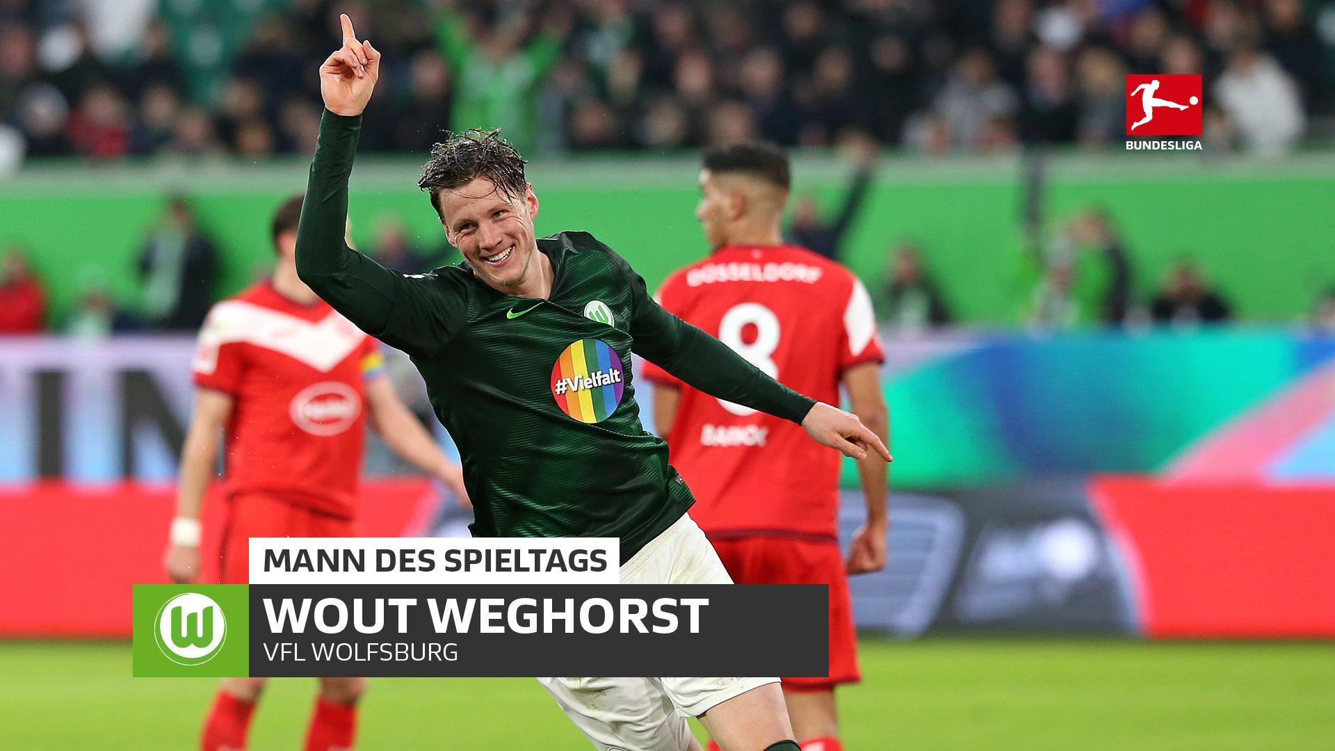Wolfsburgs Wout Weghorst schreibt Geschichte