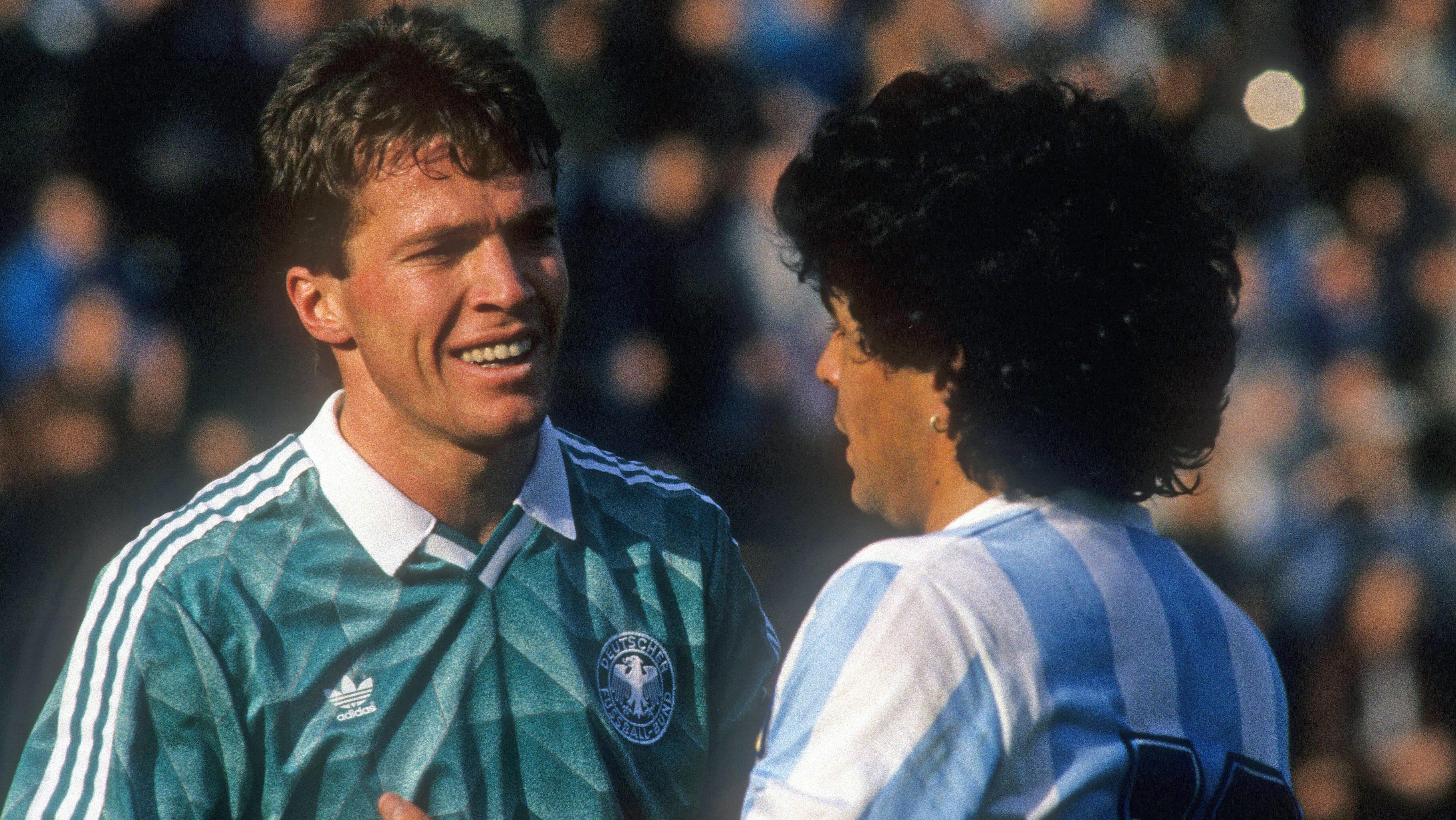 Lothar Matthäus impotriva lui Diego Marradona