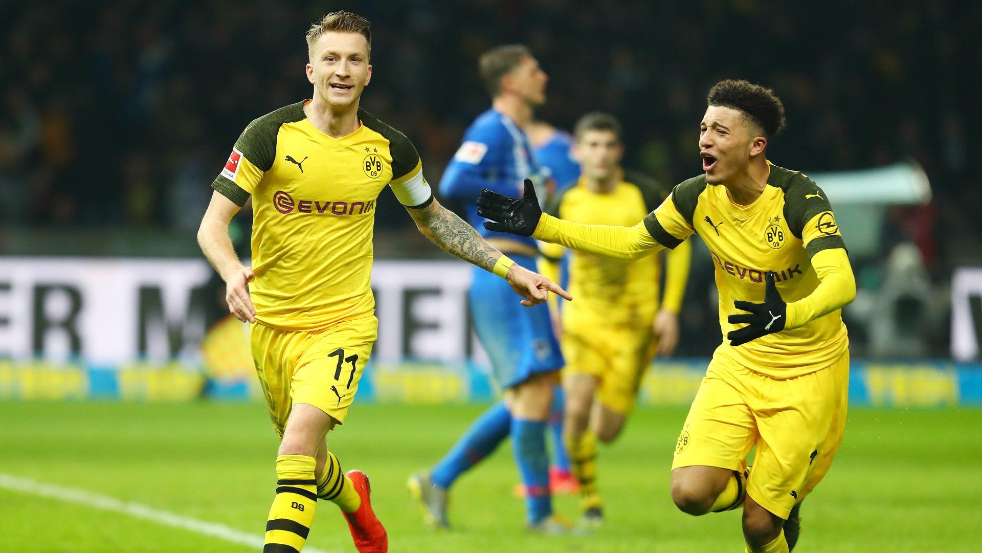 Marco Reus rettet Borussia Dortmund bei Hertha BSC
