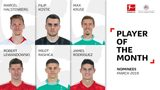 March Player of the Month nominees