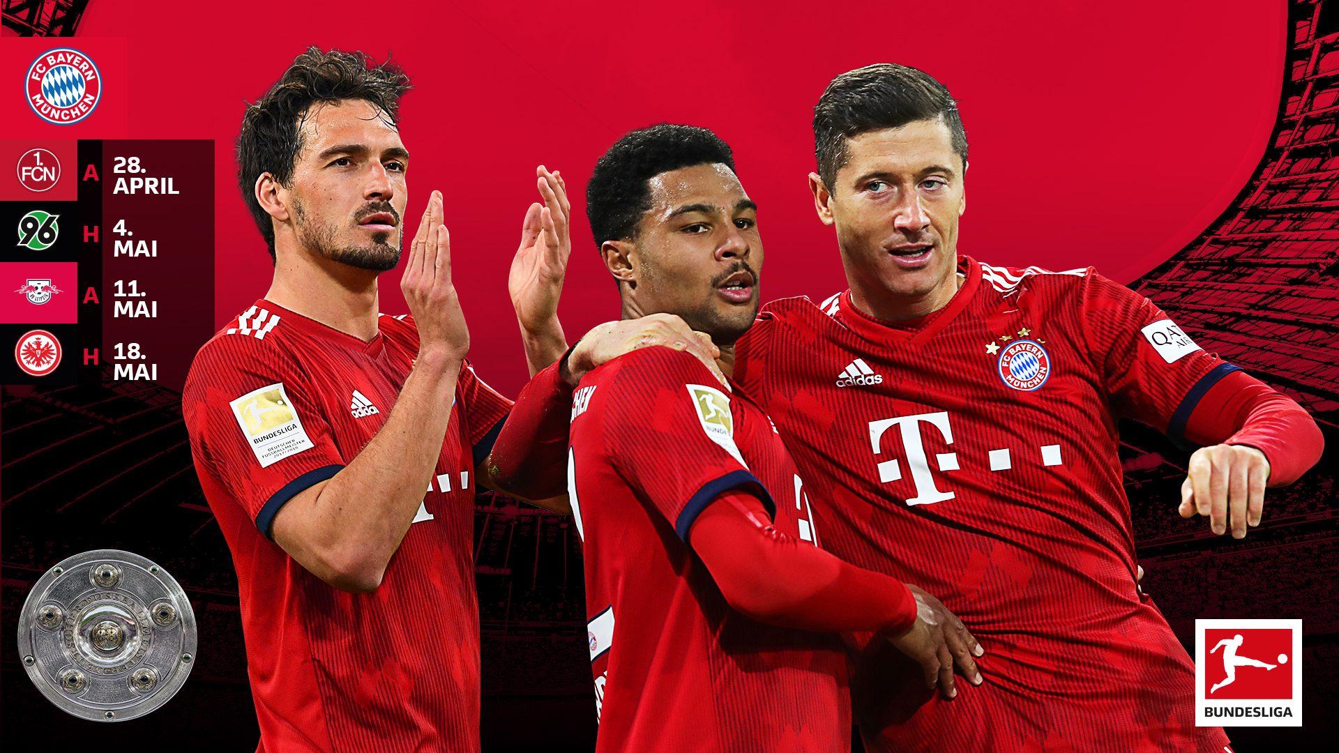 Bayern Münchens Weg zur Deutschen Meisterschaft