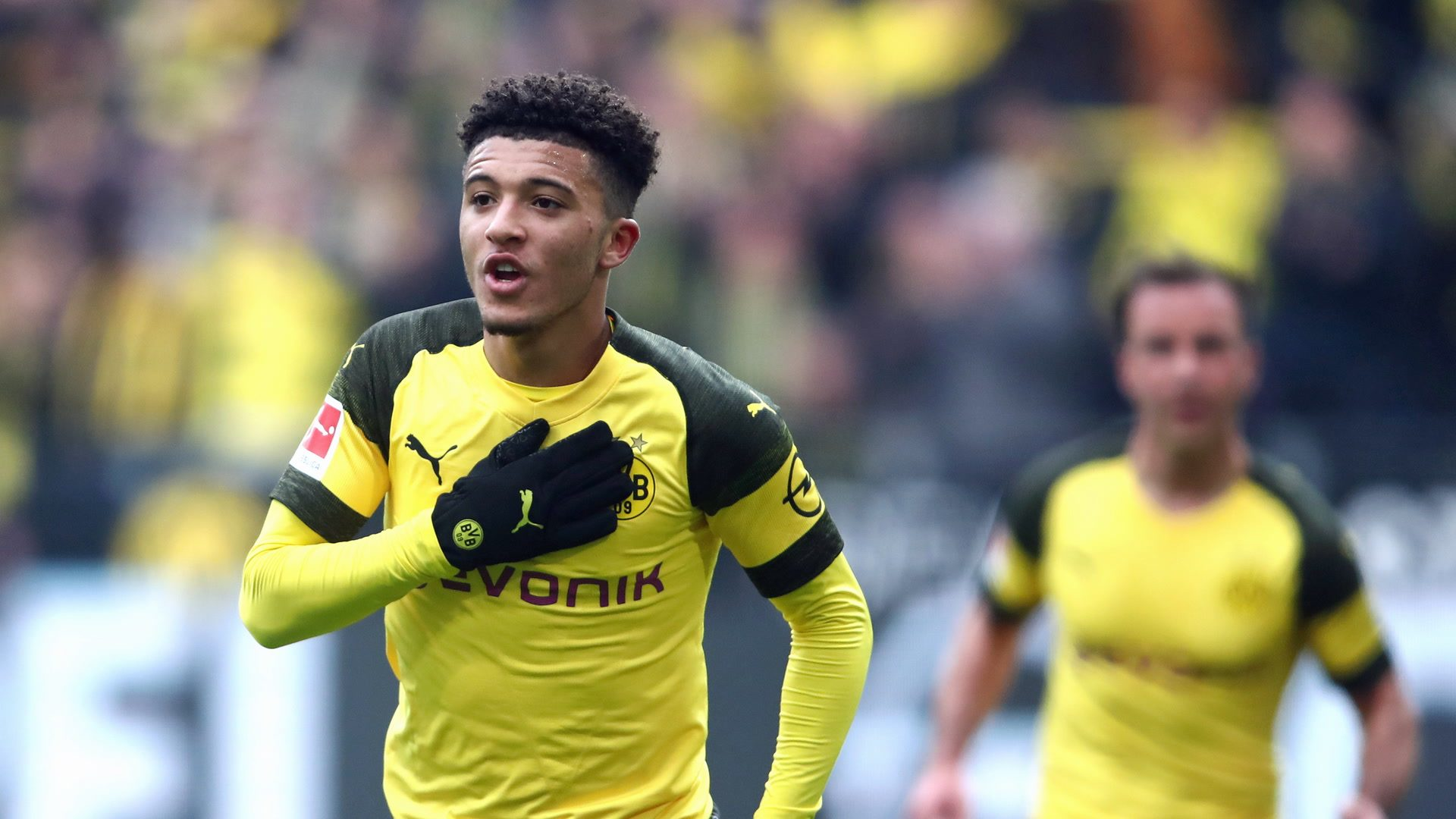 Bundesliga Borussia Dortmund Back To Winning Ways After Jadon Sancho S Brace Against Mainz