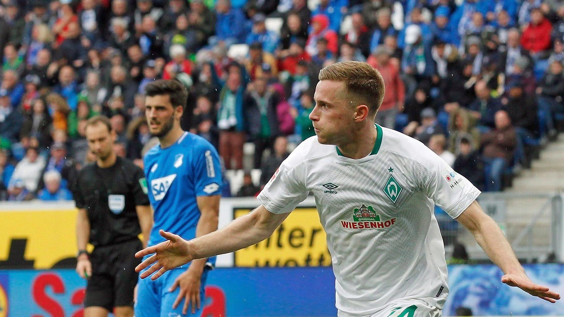 Eggestein Jr. keeps Bremen's Euro hopes alive against Hoffenheim