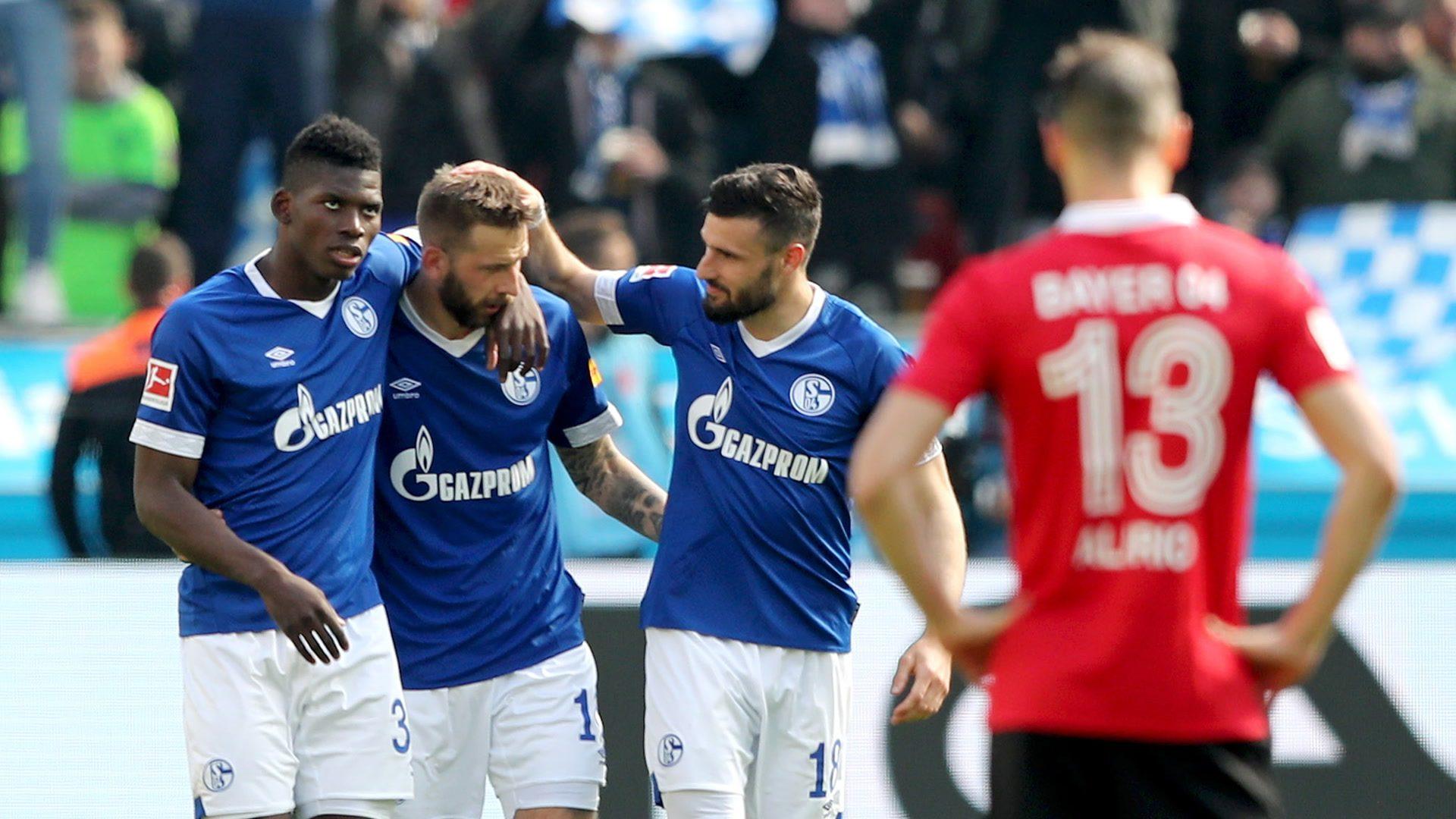 Schalke dent Leverkusen's Champions League hopes
