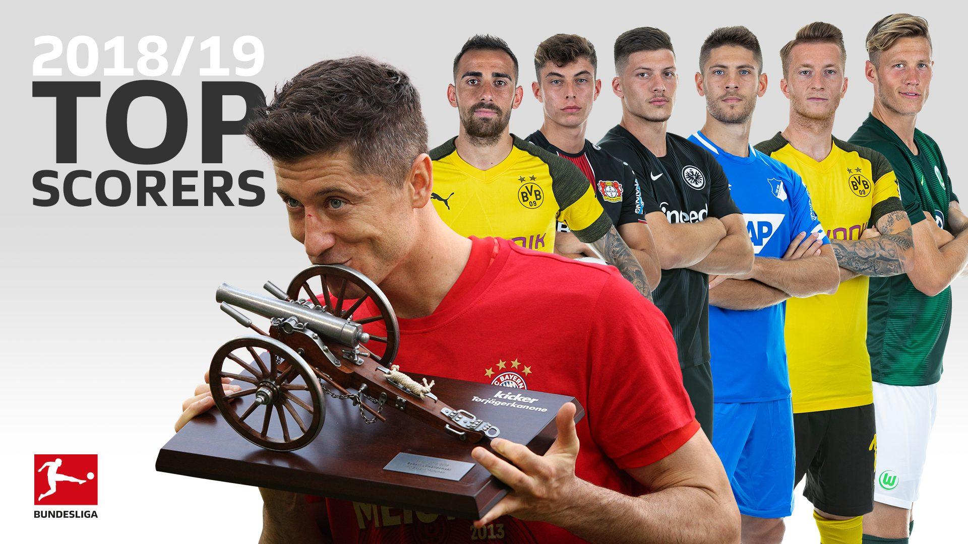 Bundesliga top scorer 2018/19: Who were the league's top marksmen?