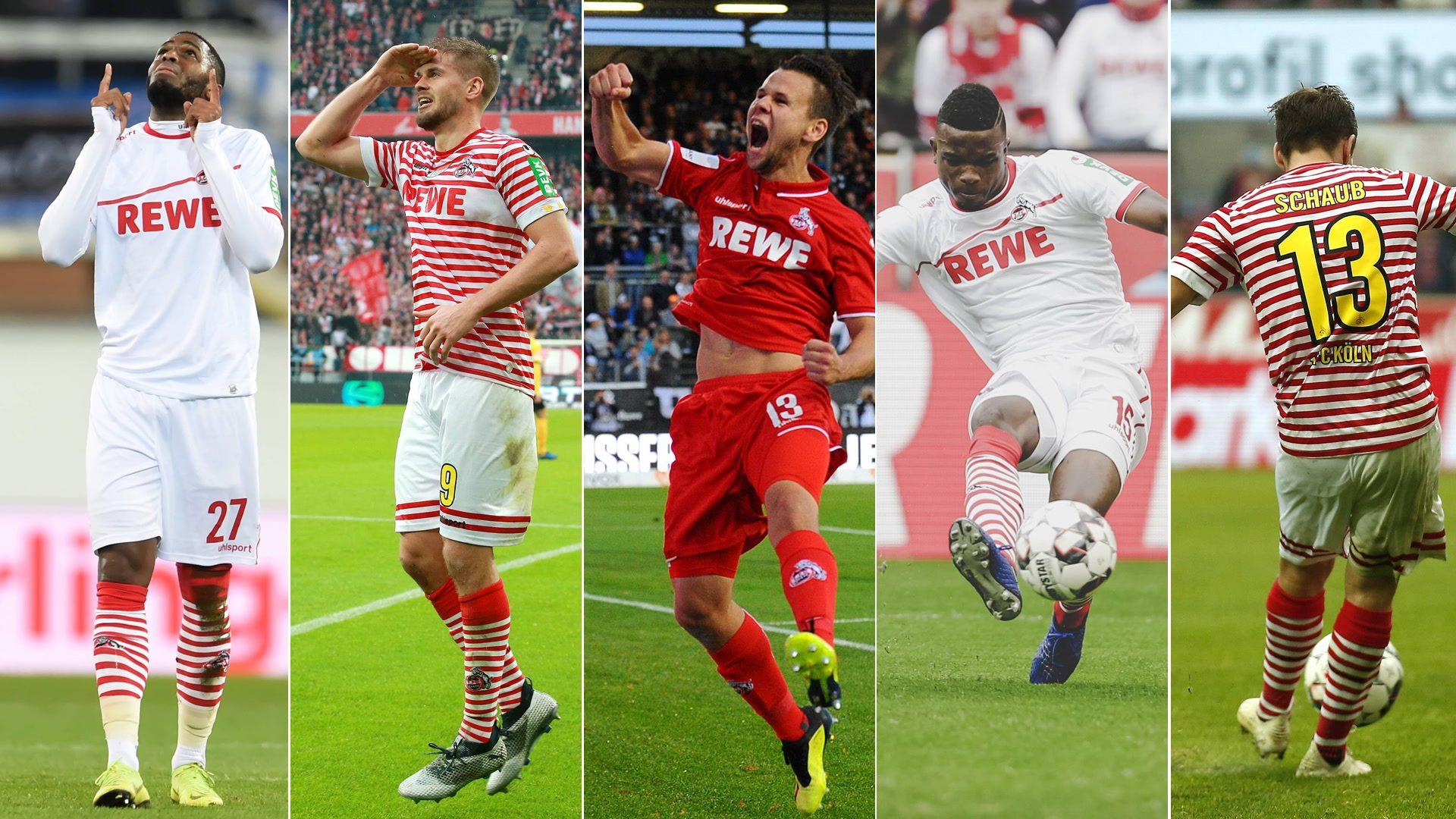 Fünf Top-Tore des 1. FC Köln