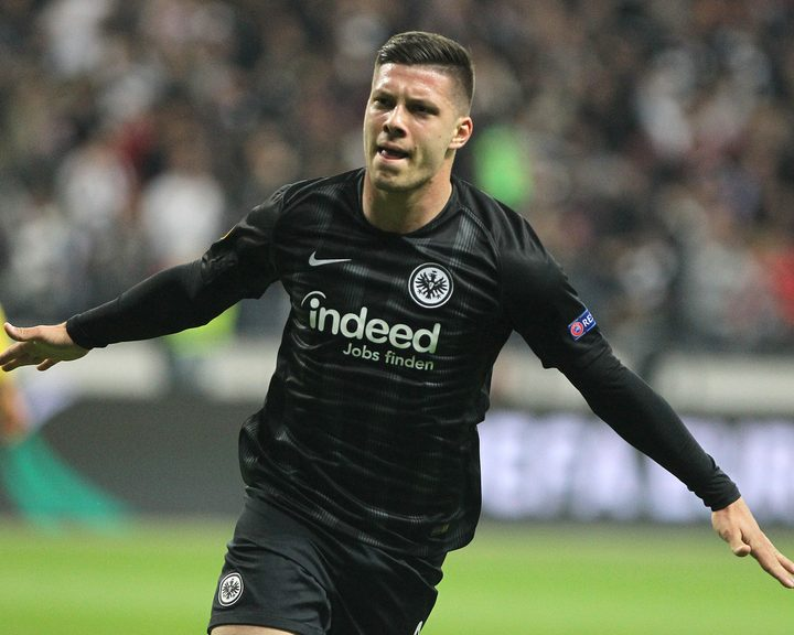 Bundesliga | Luka Jovic on target as Eintracht Frankfurt are