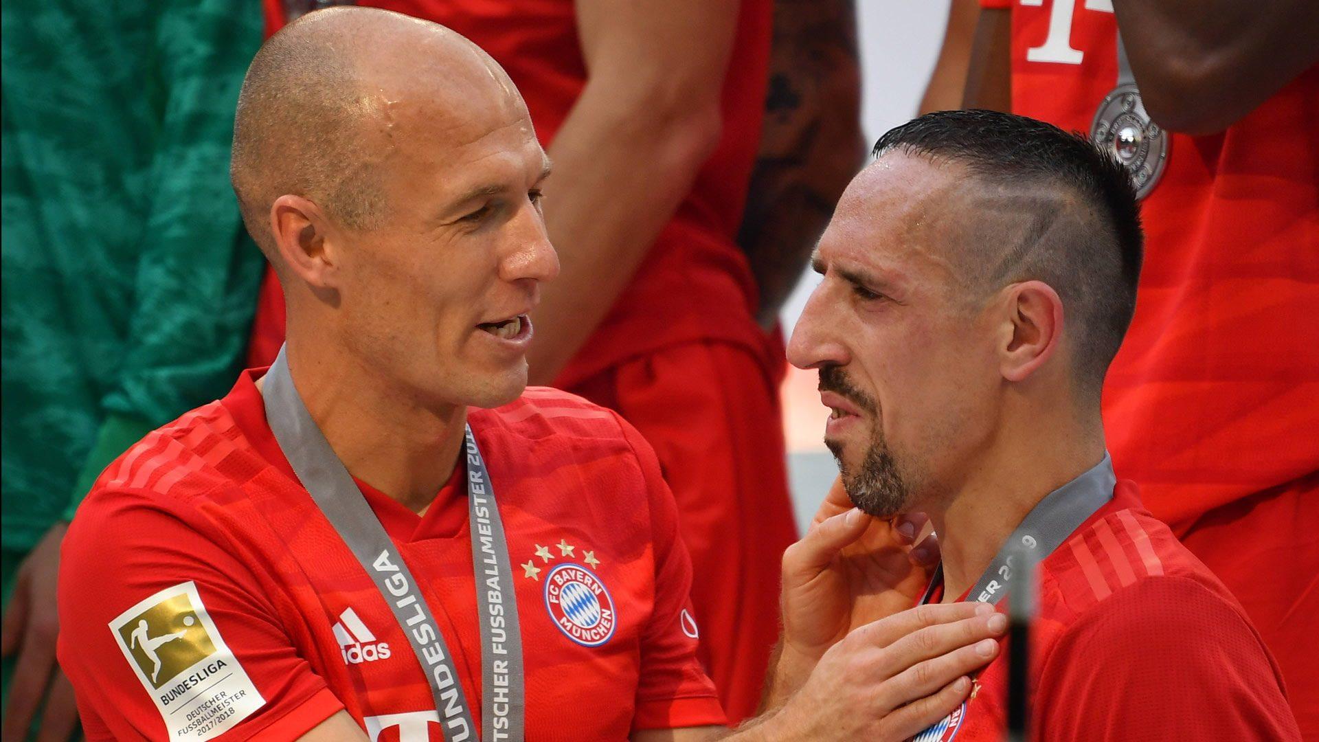 Robben und Ribery prägten eine Ära beim FC Bayern