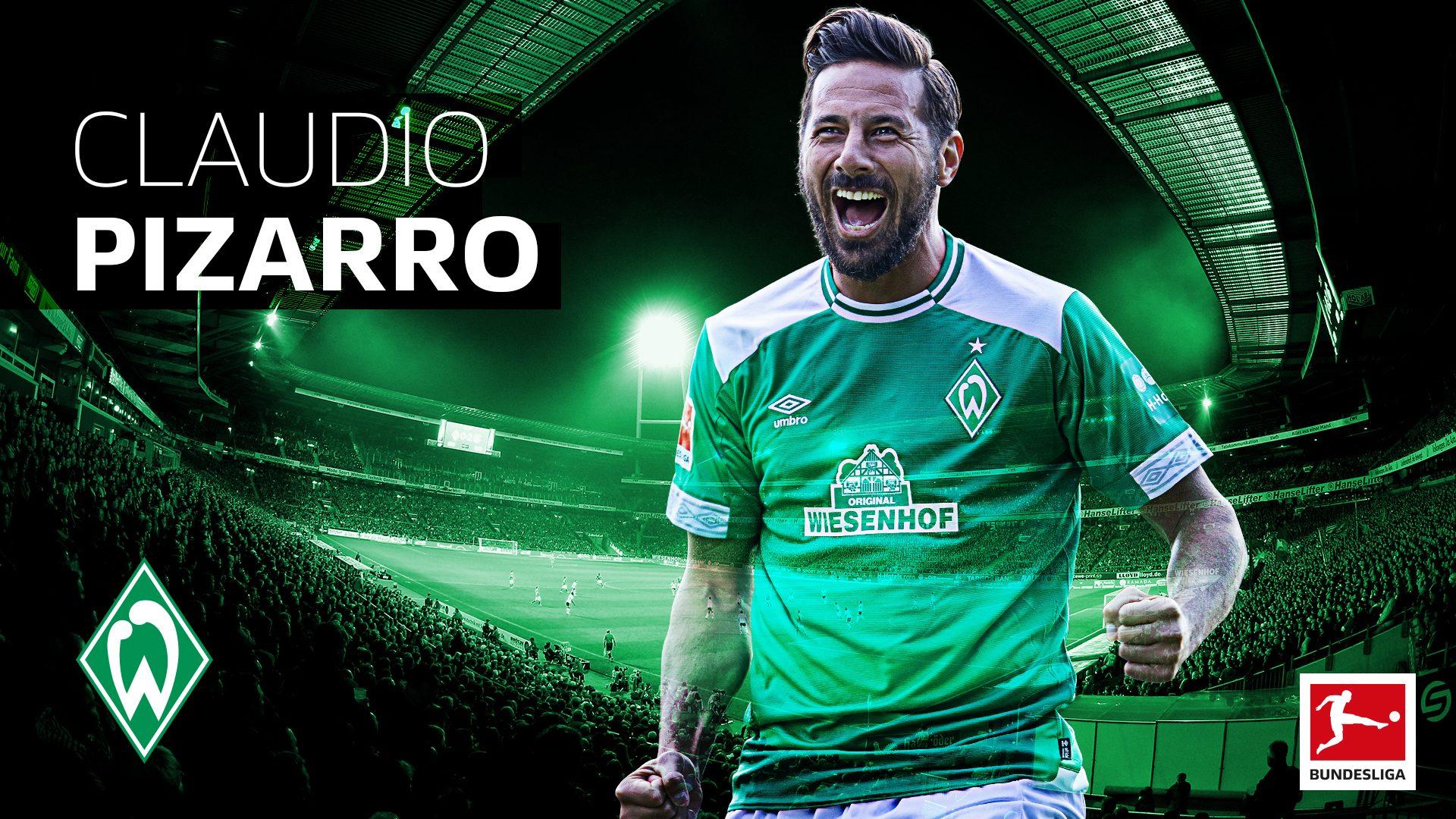 Bundesliga Claudio Pizarro Extends Werder Bremen Contract