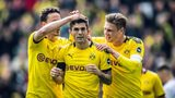 Pulisic inspires Dortmund to keep title race alive
