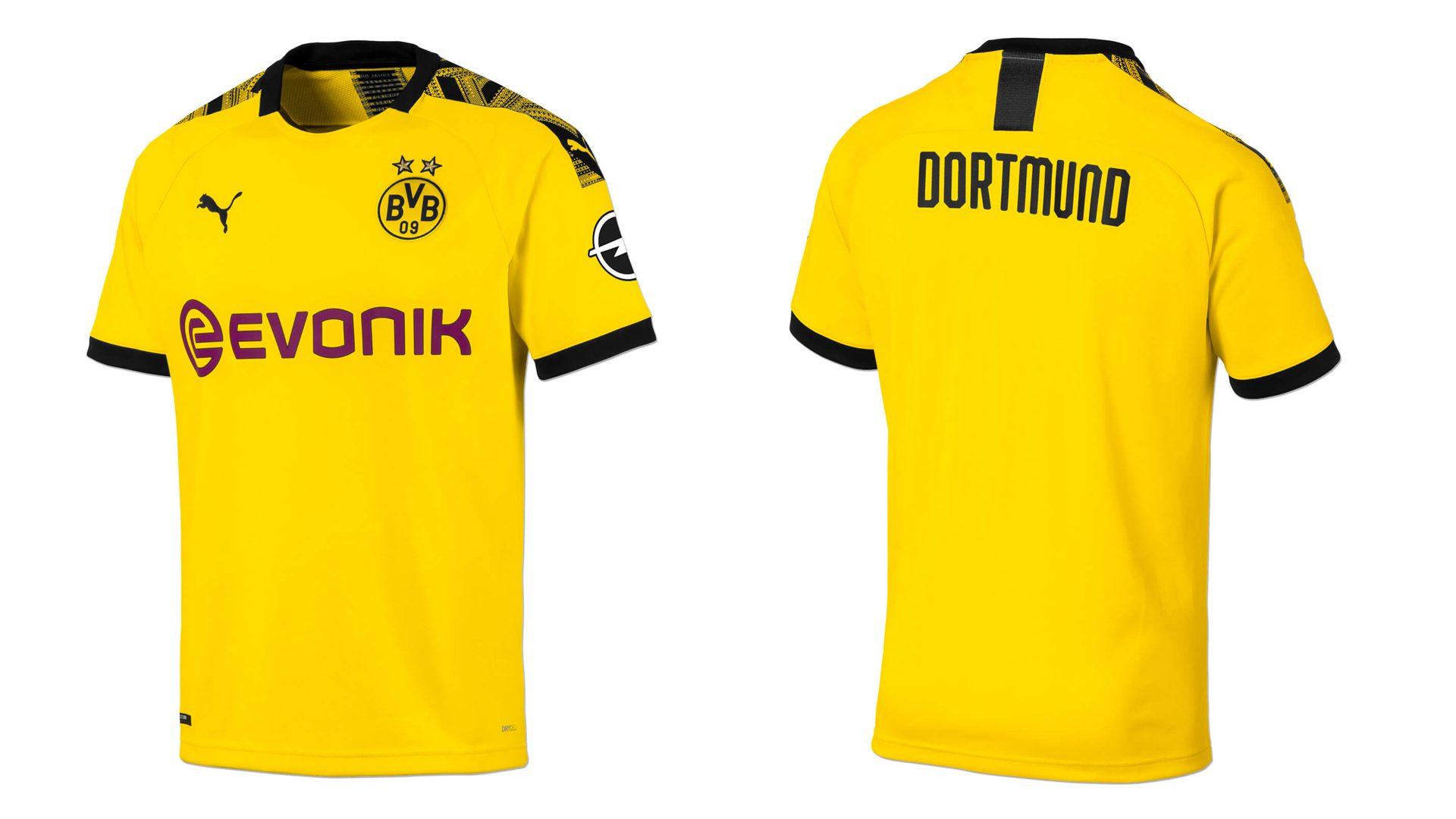 Bundesliga | Borussia Dortmund release new jersey for 2019/20