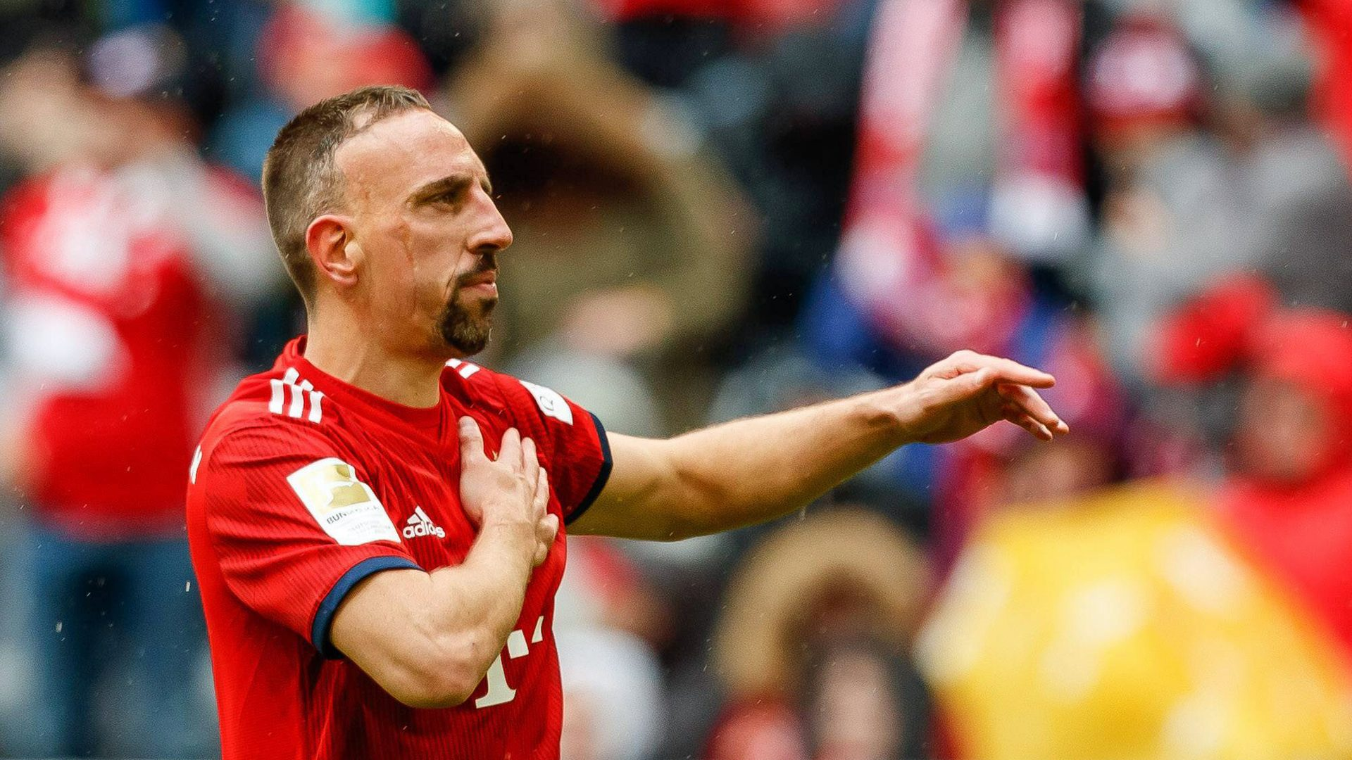 "Bundesliga | ""We're a family now"" - Bayern Munich winger Franck Ribery"
