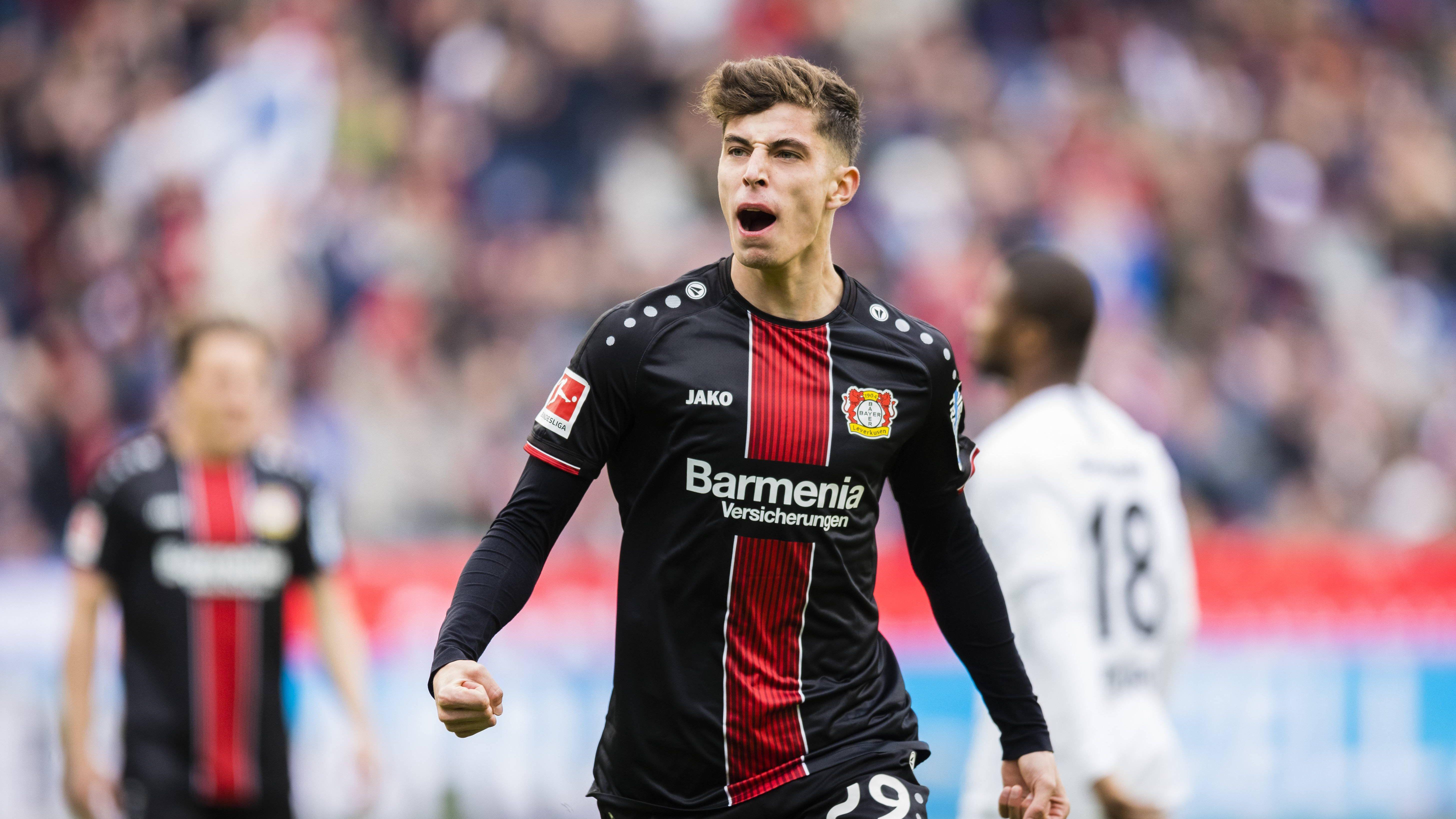 Bundesliga   VEA: Todos los goles de Kai Havertz en la Bundesliga ...