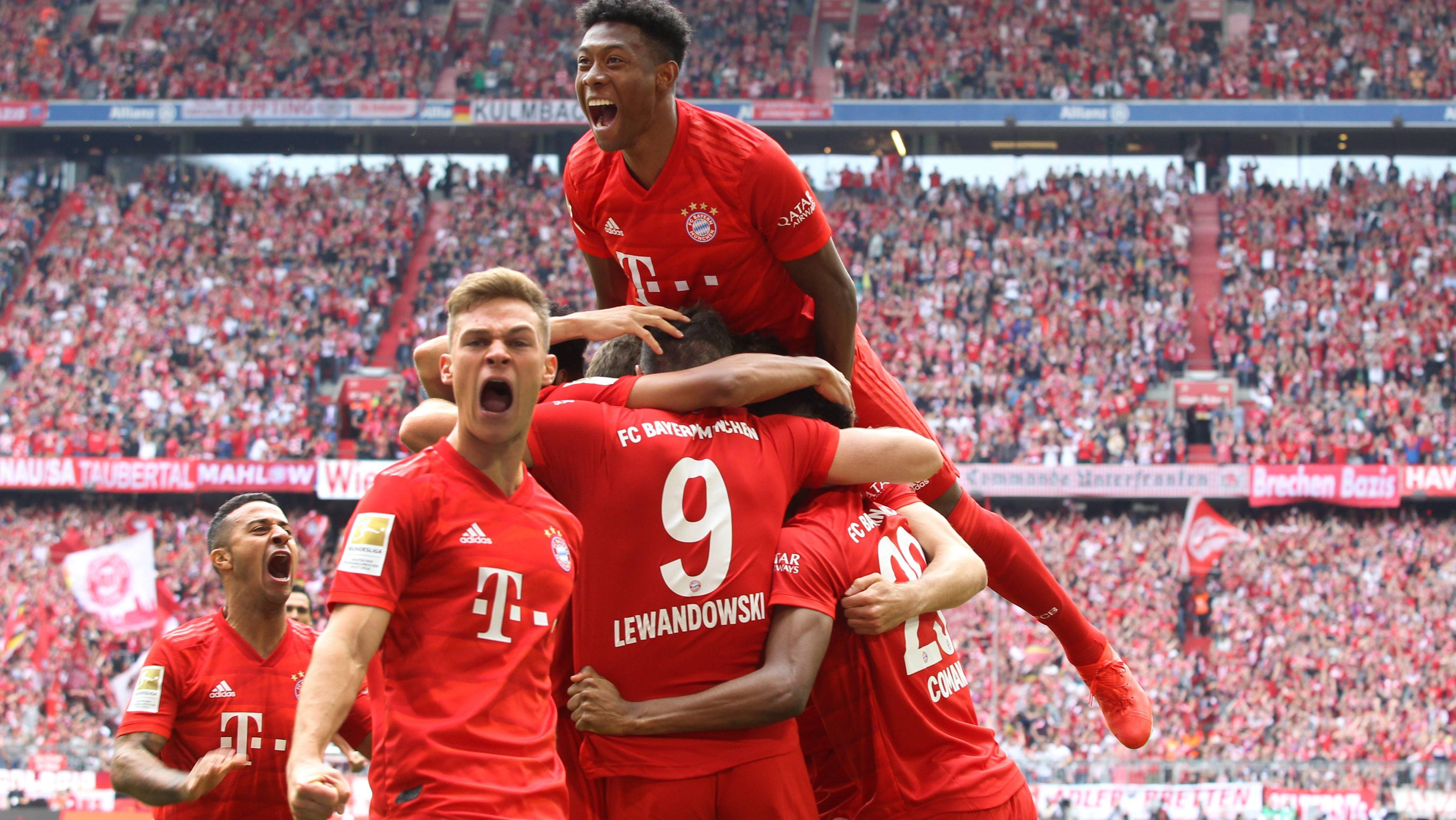 Bayerns wichtigste Spiele auf dem Weg zum Titel