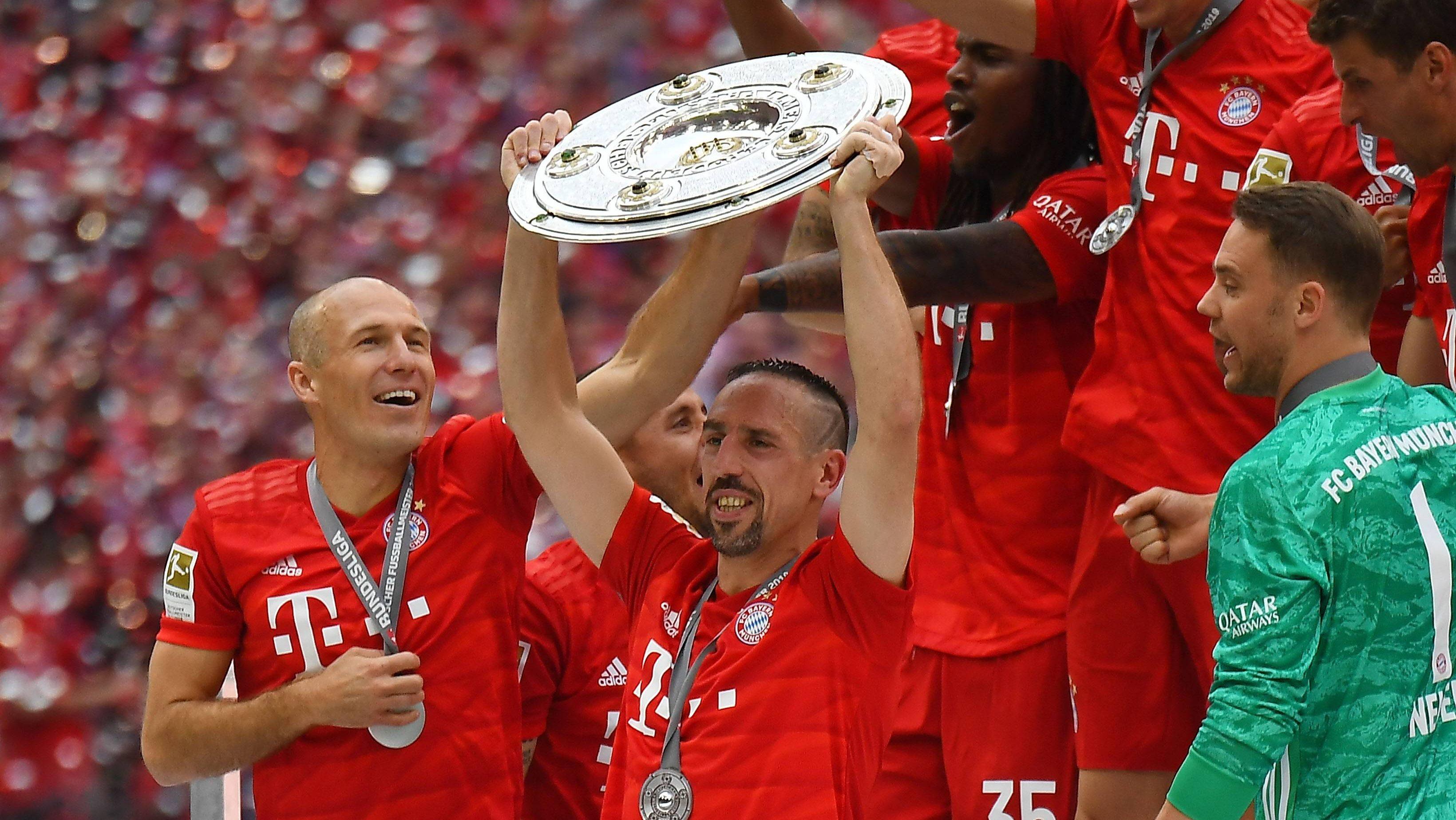 Franck Ribery ist der Rekord-Meister