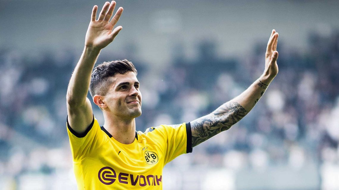 58069419d Christian Pulisic s fitting farewell to Borussia Dortmund