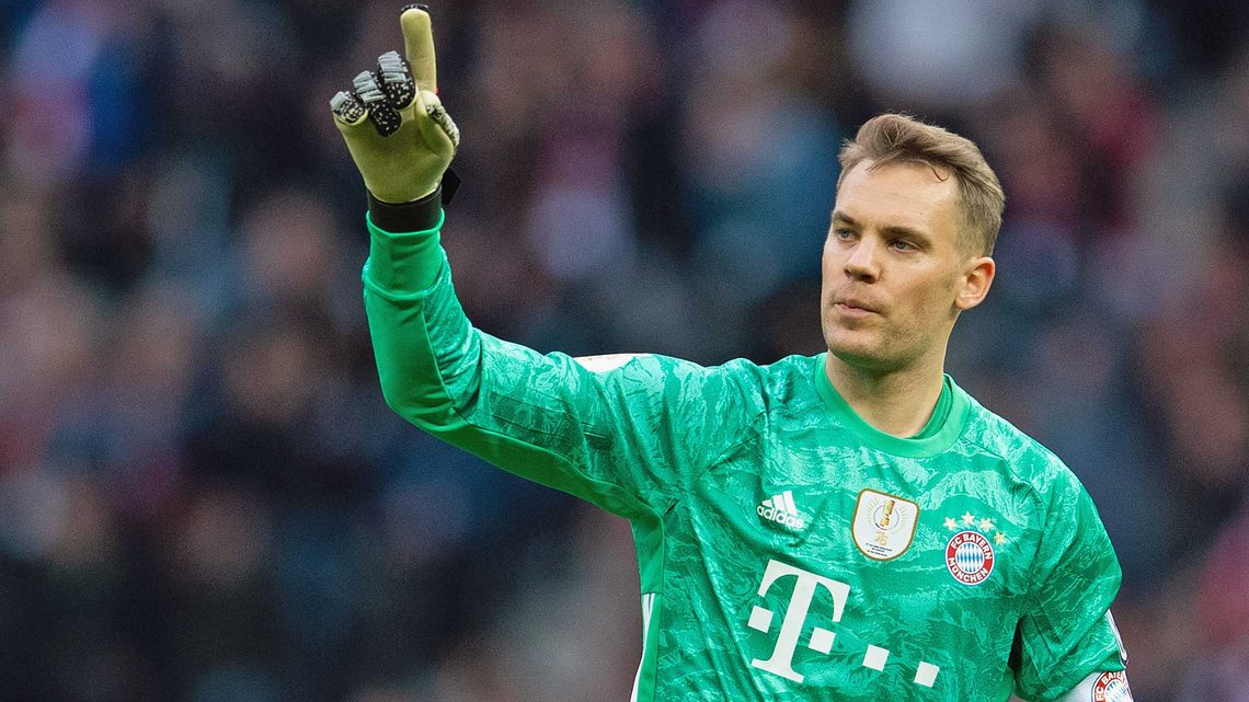0ceb0ee39 Why Manuel Neuer is STILL the world s best goalkeeper