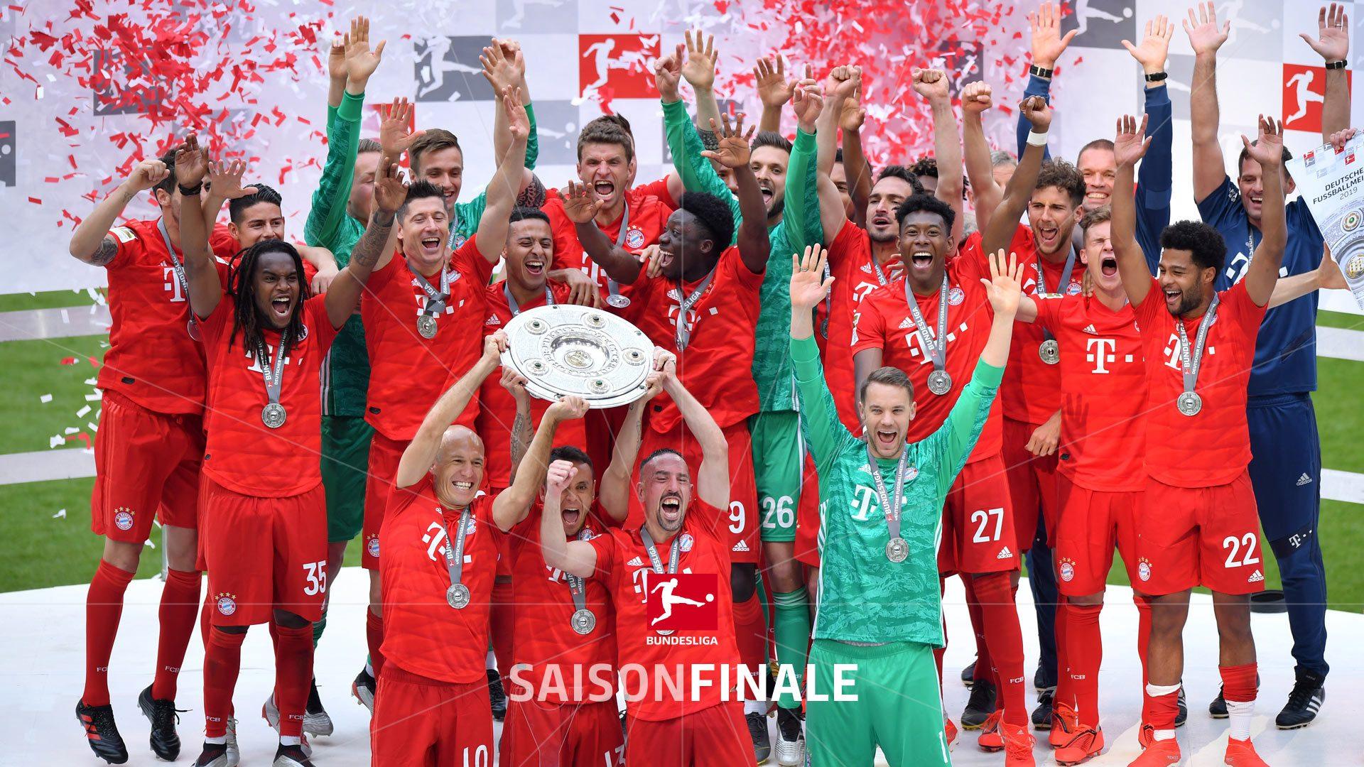 5:1 gegen Frankfurt - Bayern ist Deutscher Meister