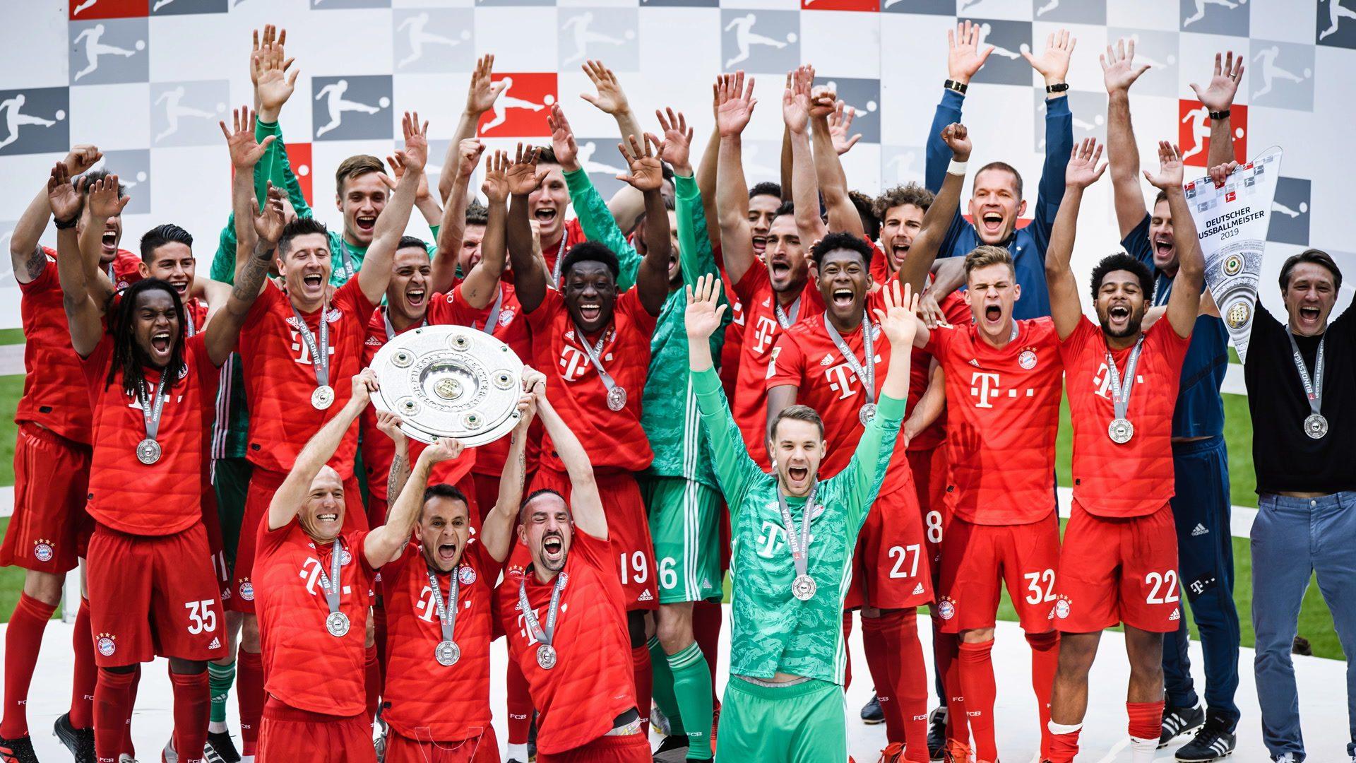 Bayern Munich are champions!