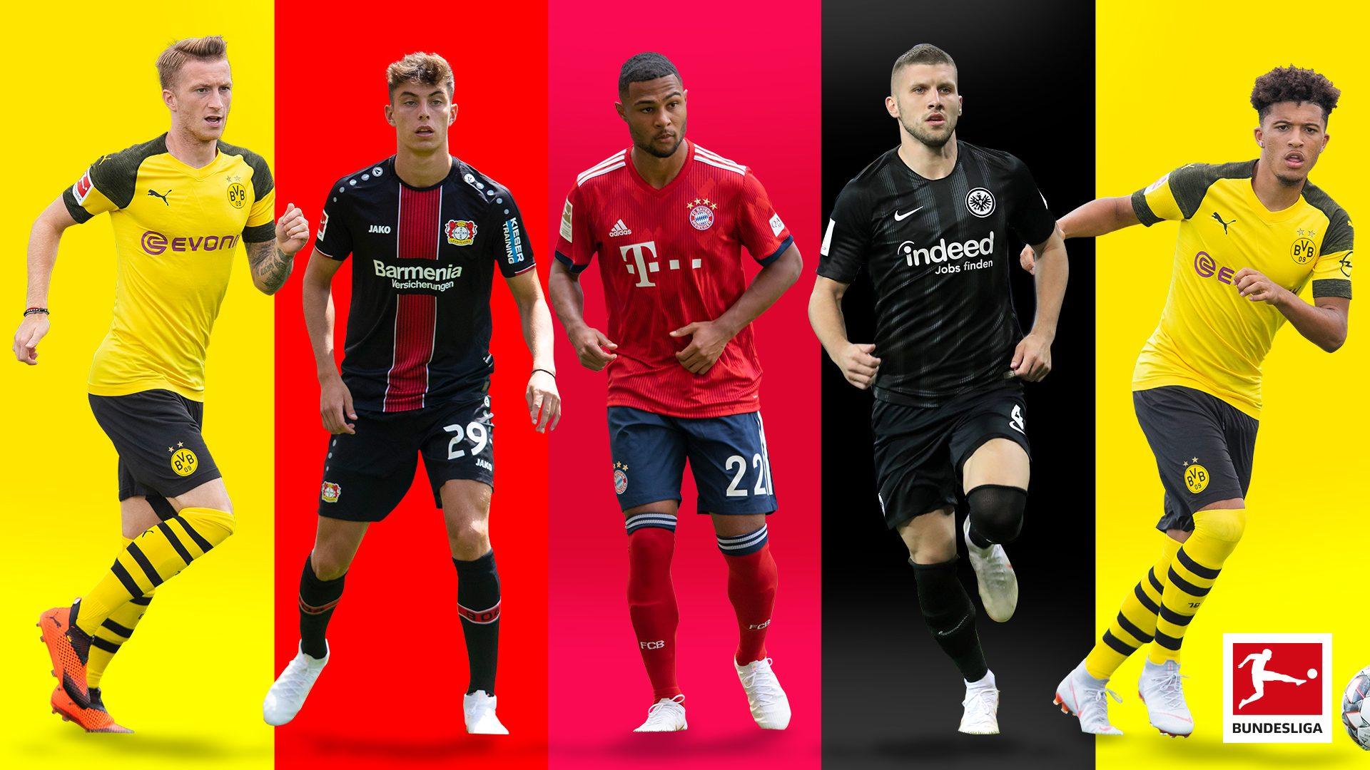 Die besten Tricks und Tore der Bundesliga-Stars