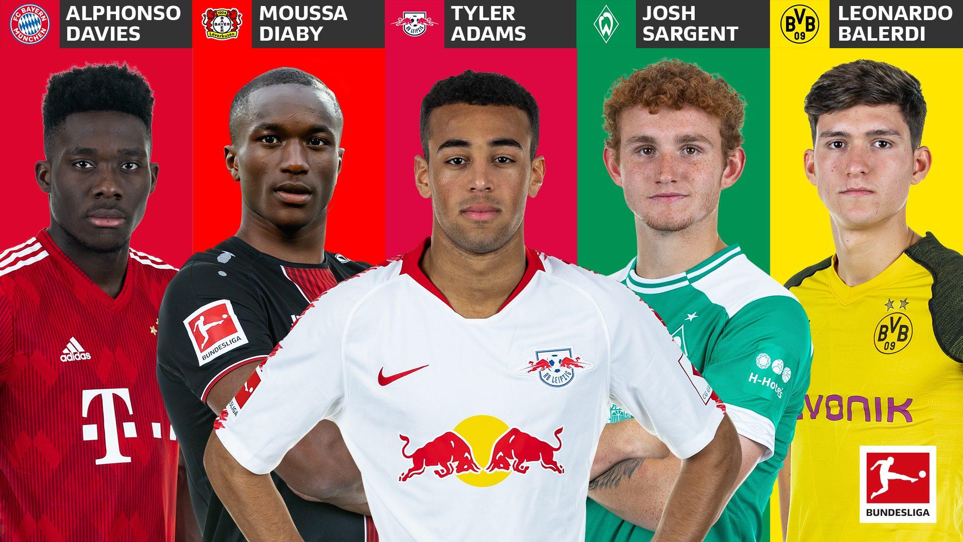 Bundesliga | Tyler Adams, Alphonso Davies and the top 5 most