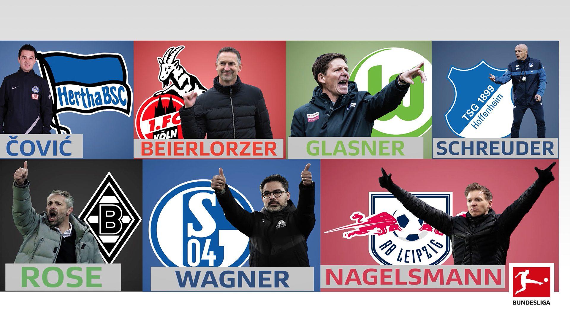 Sieben Teams mit neuem Trainer