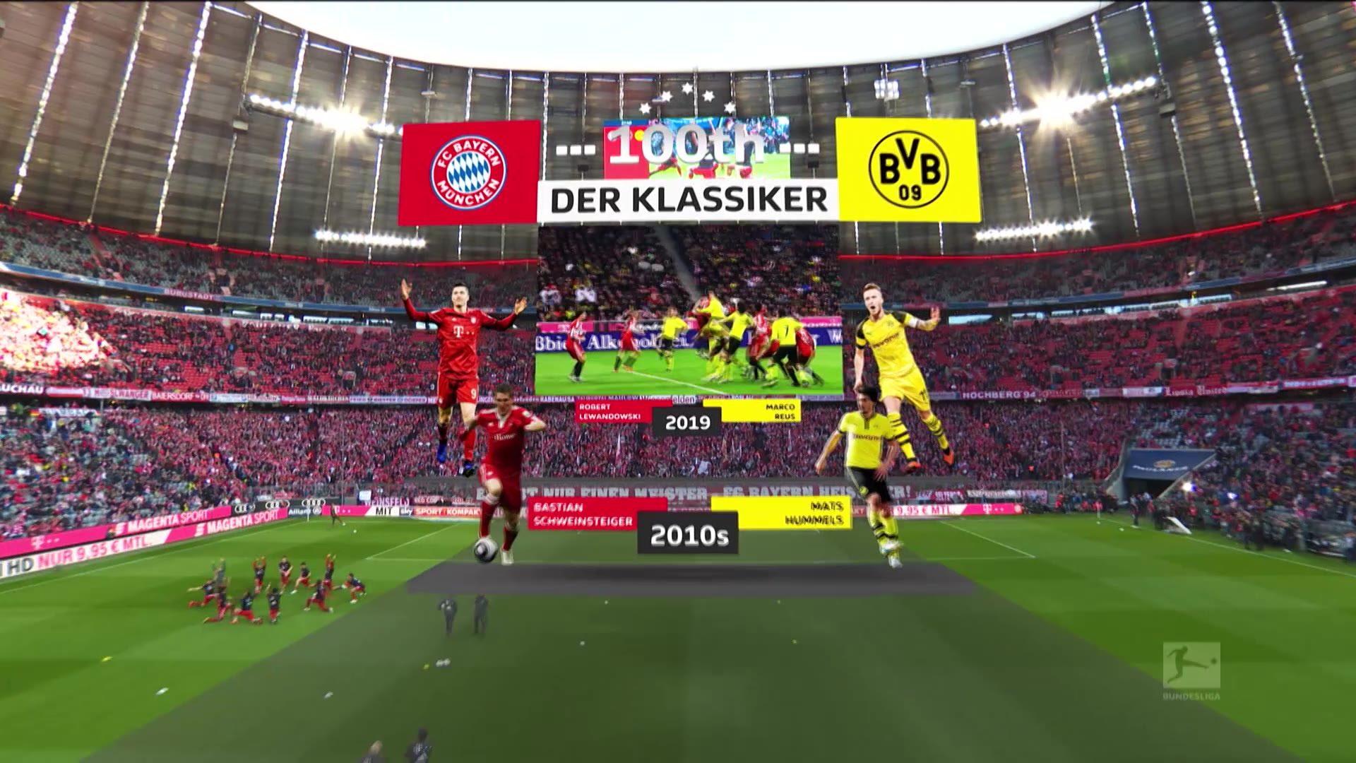 Calendario Bundesliga 2.Vea Der Klassiker El Partido Mas Grande De Alemania