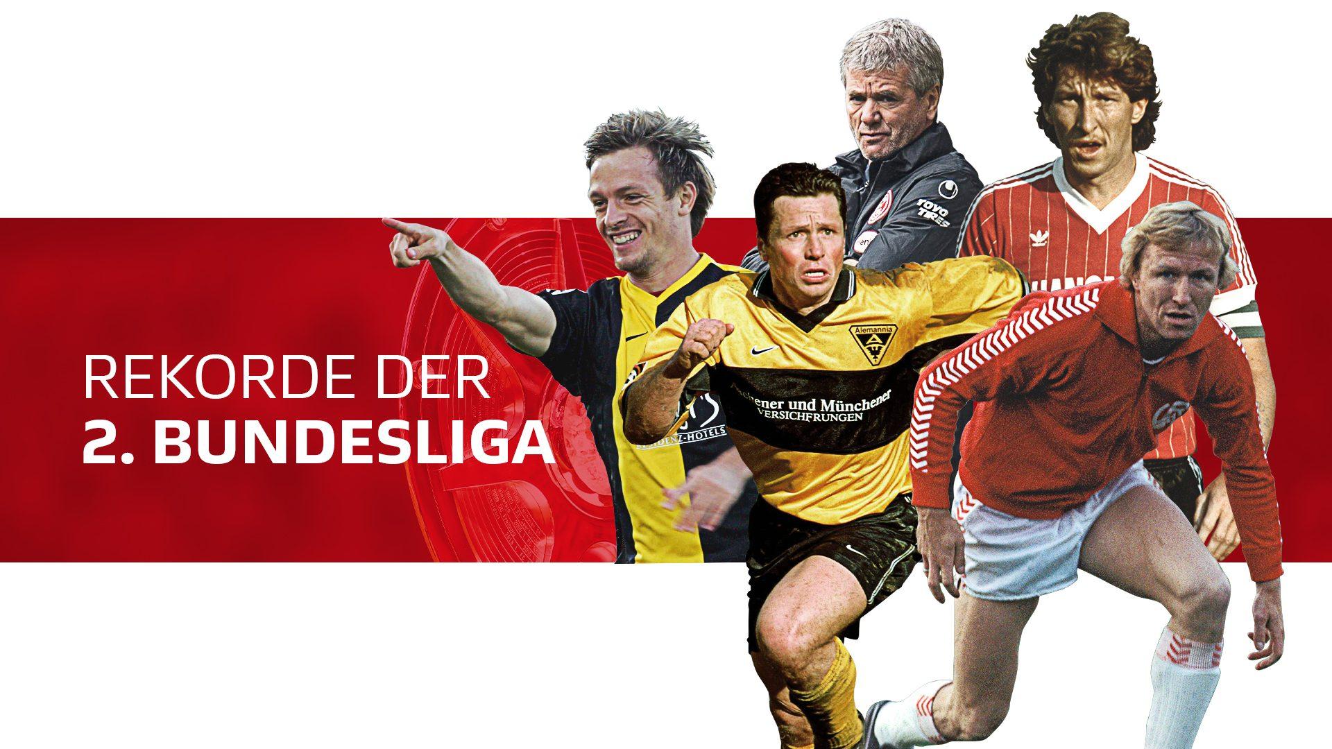 Die Rekorde der 2. Bundesliga