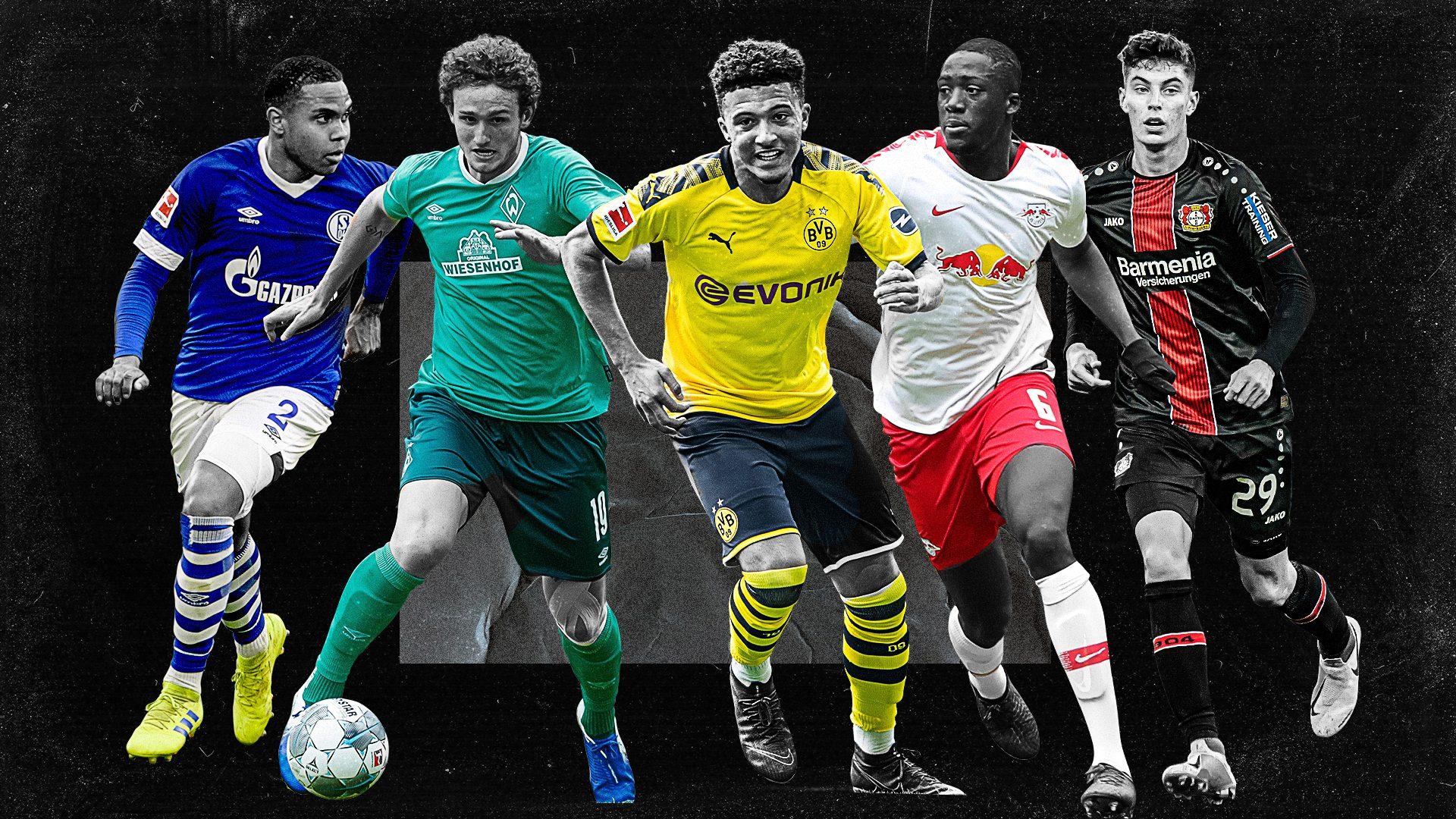 Los jóvenes a seguir en la Bundesliga 2019/20