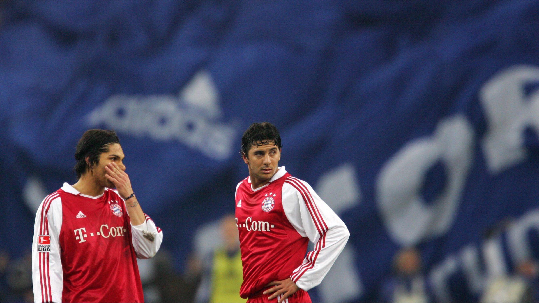 Cuotas especiales de Claudio Pizarro y repaso por su carrera > Claudio Pizarro y Paolo Guerrero coincidiendo en el Bayern Munich