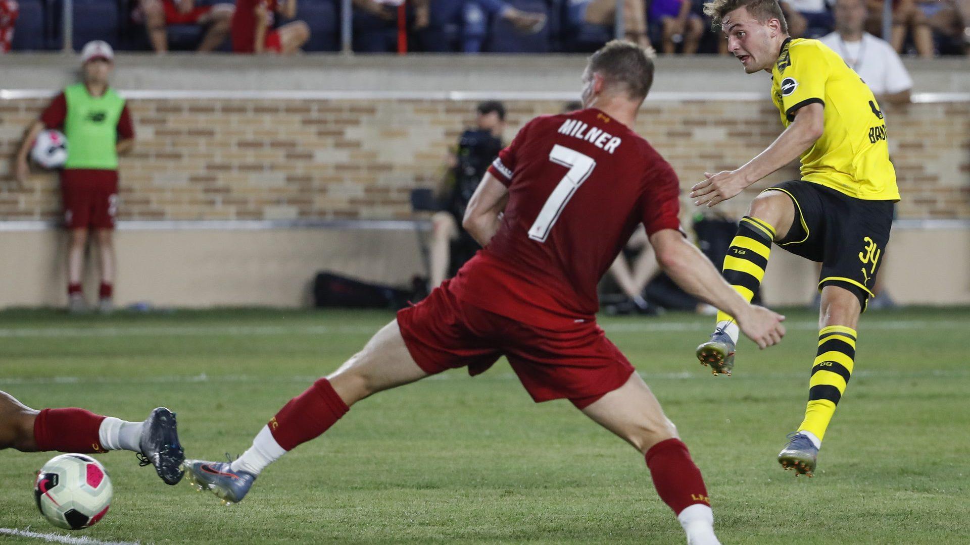 Dortmund siegt gegen Liverpool