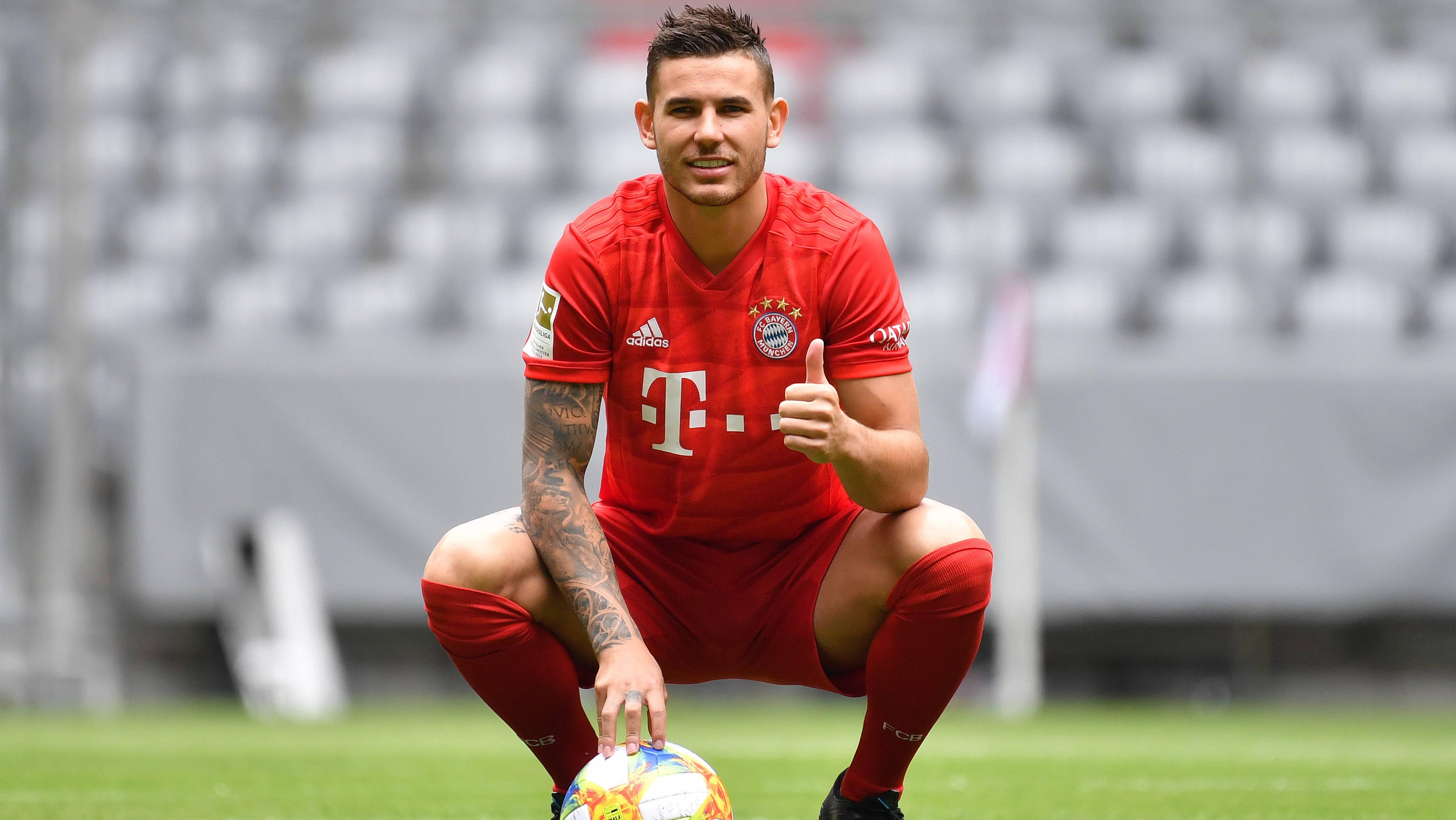 Bayern München stellt Lucas Hernandez vor