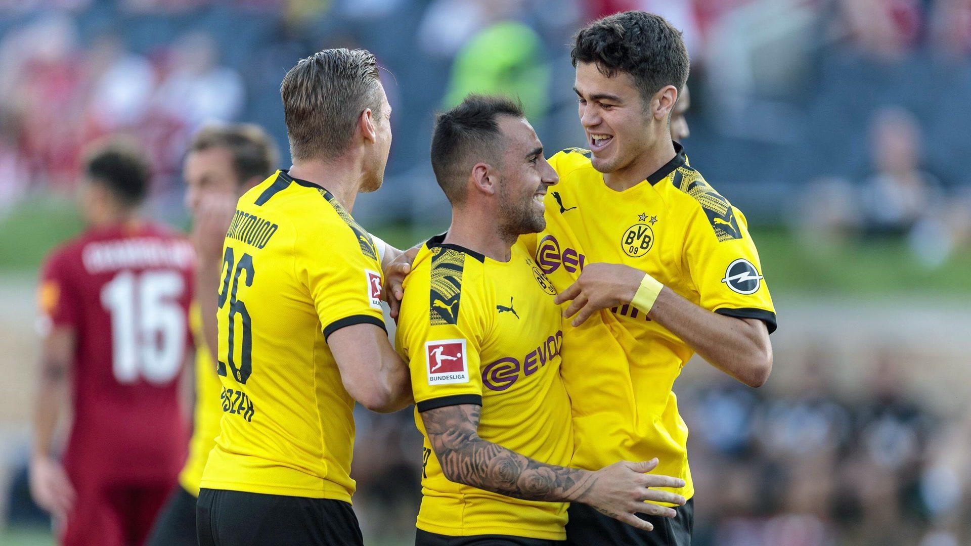 Dortmund beat European Champions Liverpool in USA