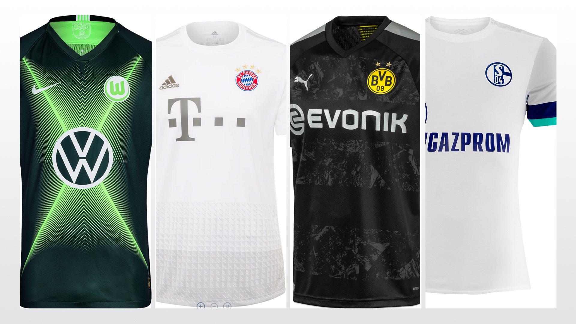 The new 2019/20 Bundesliga kits