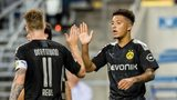 Alcacer and Sancho among goals in Dortmund win