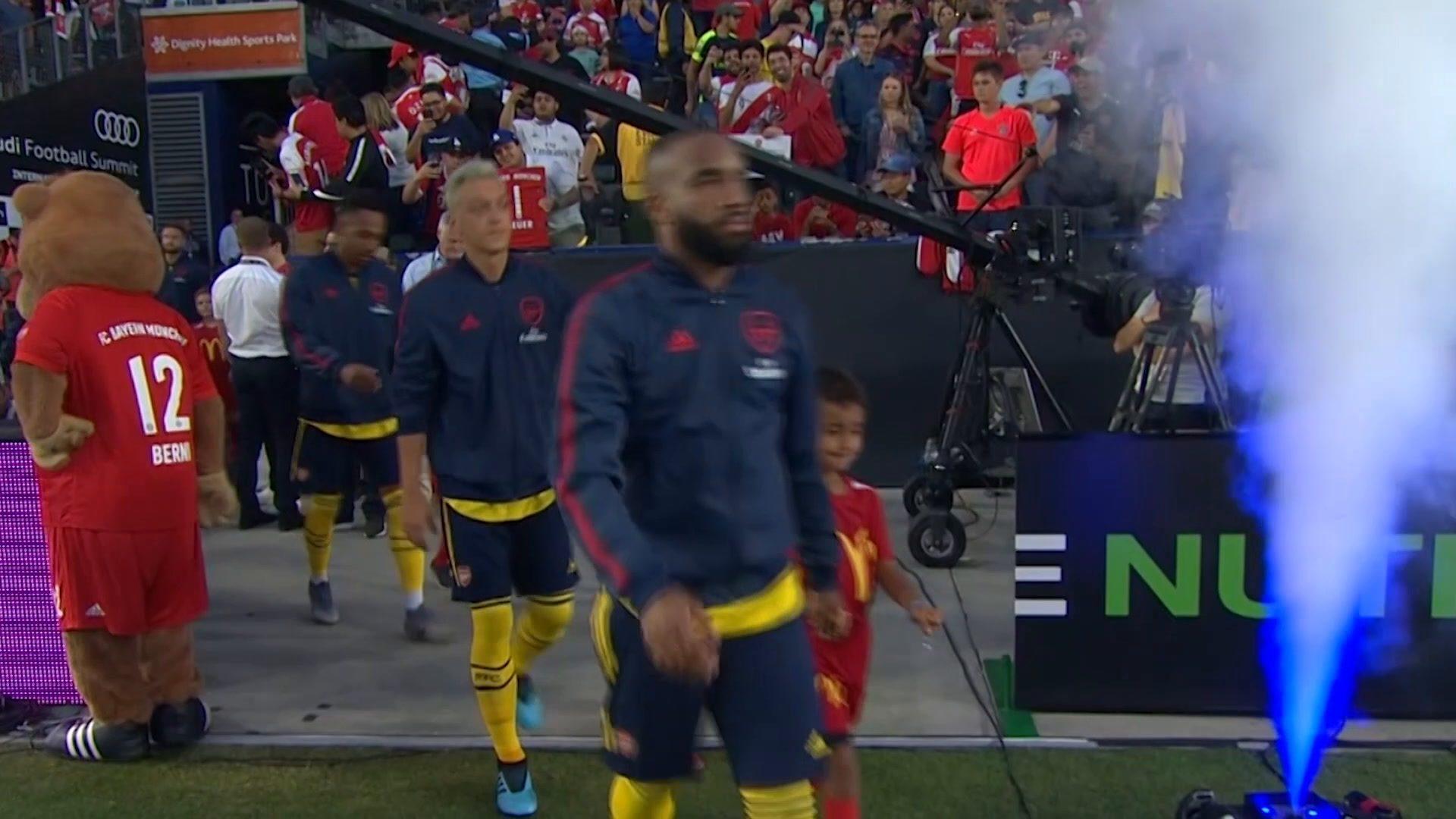 Watch: Bayern Munich 1-2 Arsenal