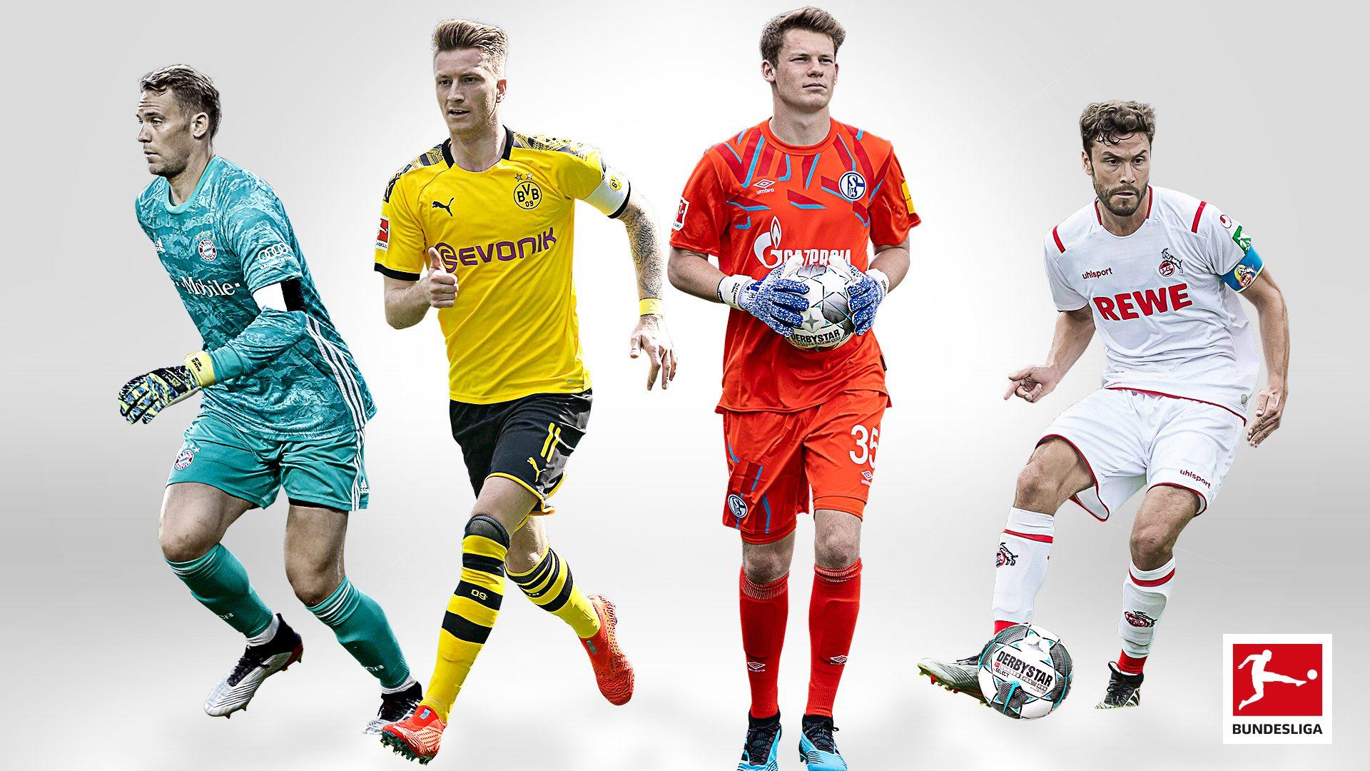 Sie gehen voran: Die Kapitäne der Saison 2019/20