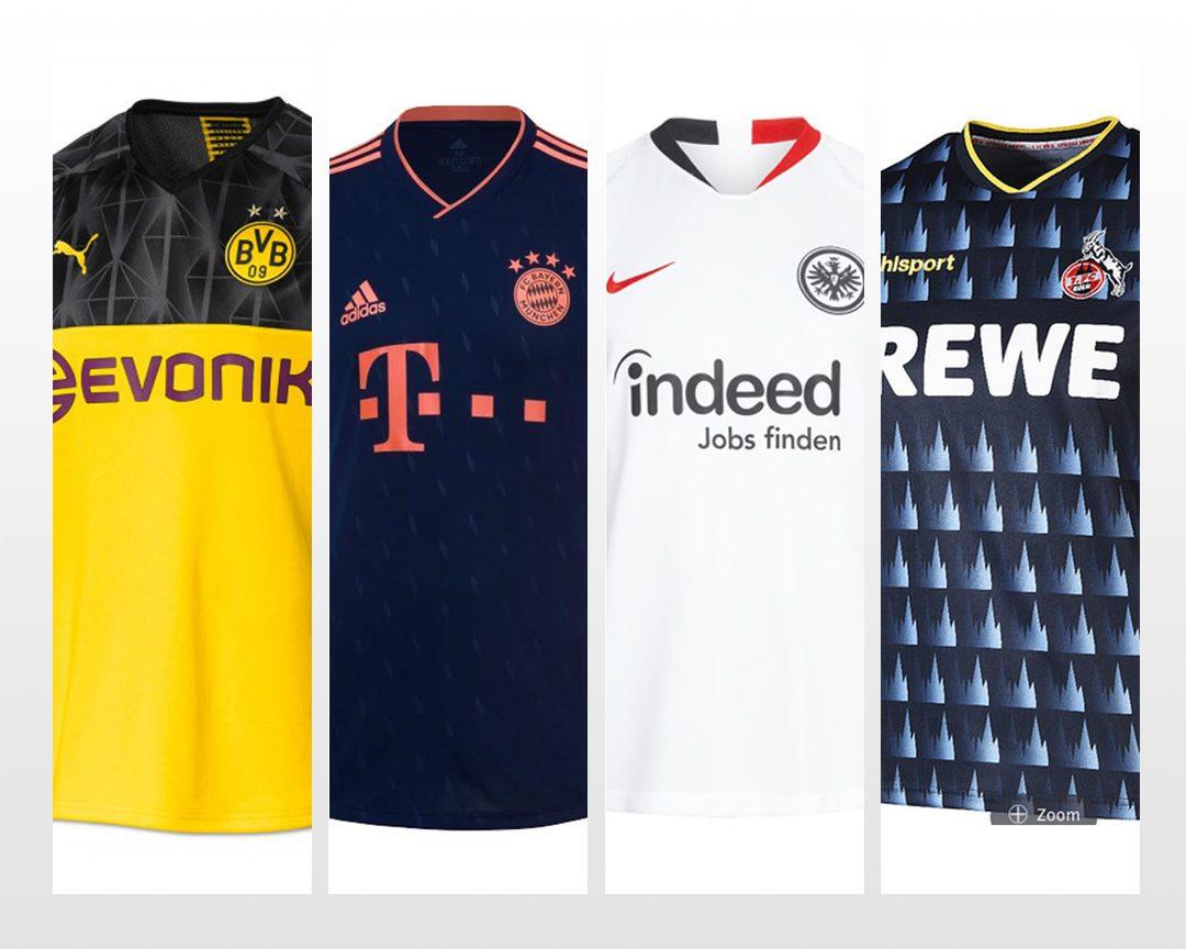 Bundesliga   Die neuen Trikots für die Saison 201920