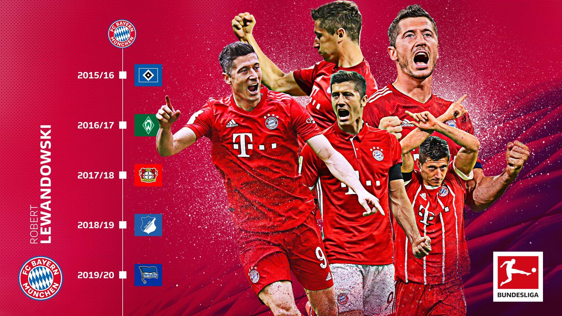 Neuer Bundesliga-Rekord für Robert Lewandowski