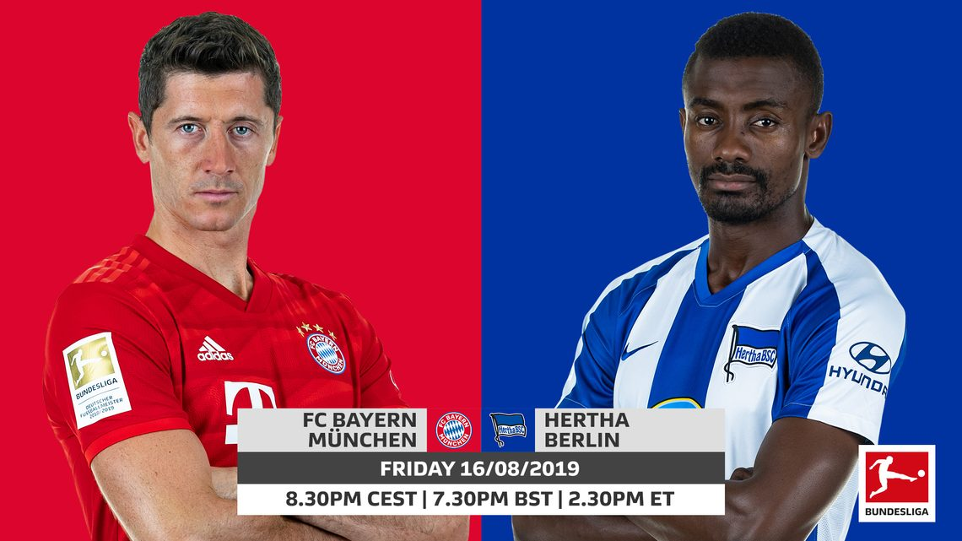 Bayern Munich vs. Hertha Berlin: probable line-ups, stats and LIVE blog
