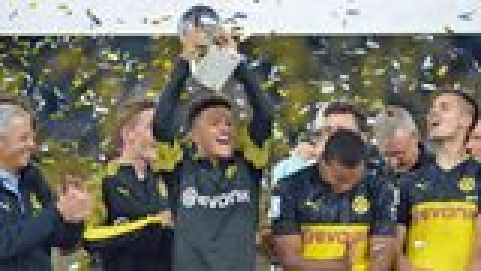 Sancho stars as Dortmund beat Bayern in Supercup