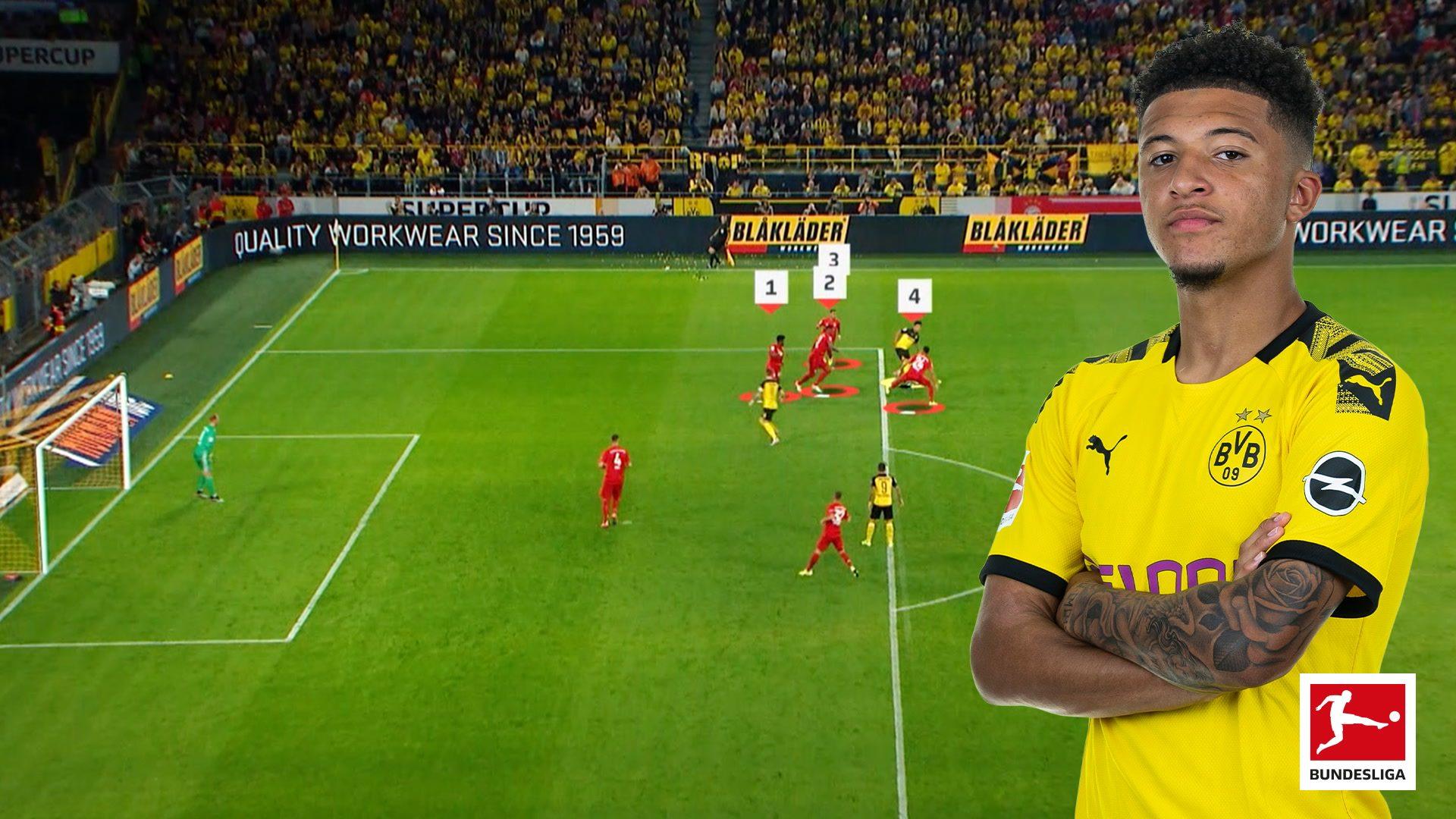BVB-Star Jadon Sancho mit neuem Bundesliga-Rekord