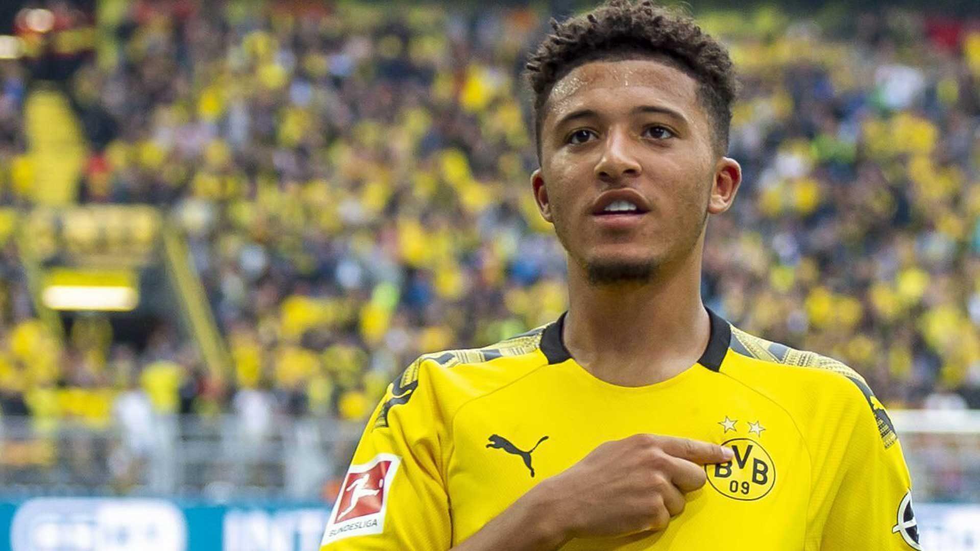 Bundesliga Jadon Sancho S Career Milestones For Borussia