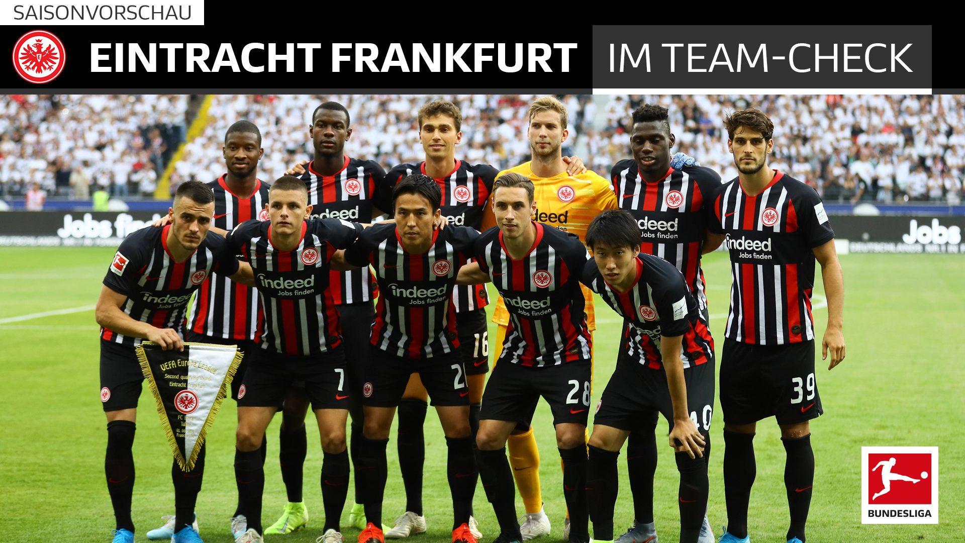 Mannschaft Eintracht Frankfurt