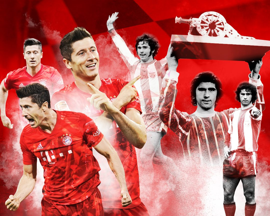 Can Lewandowski break Müller's 40-goal record?