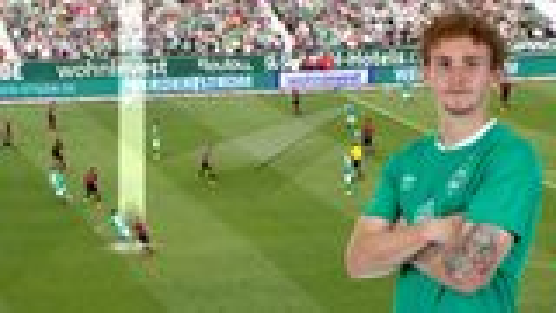 Watch: Josh Sargent scores Bergkamp-esque stunner