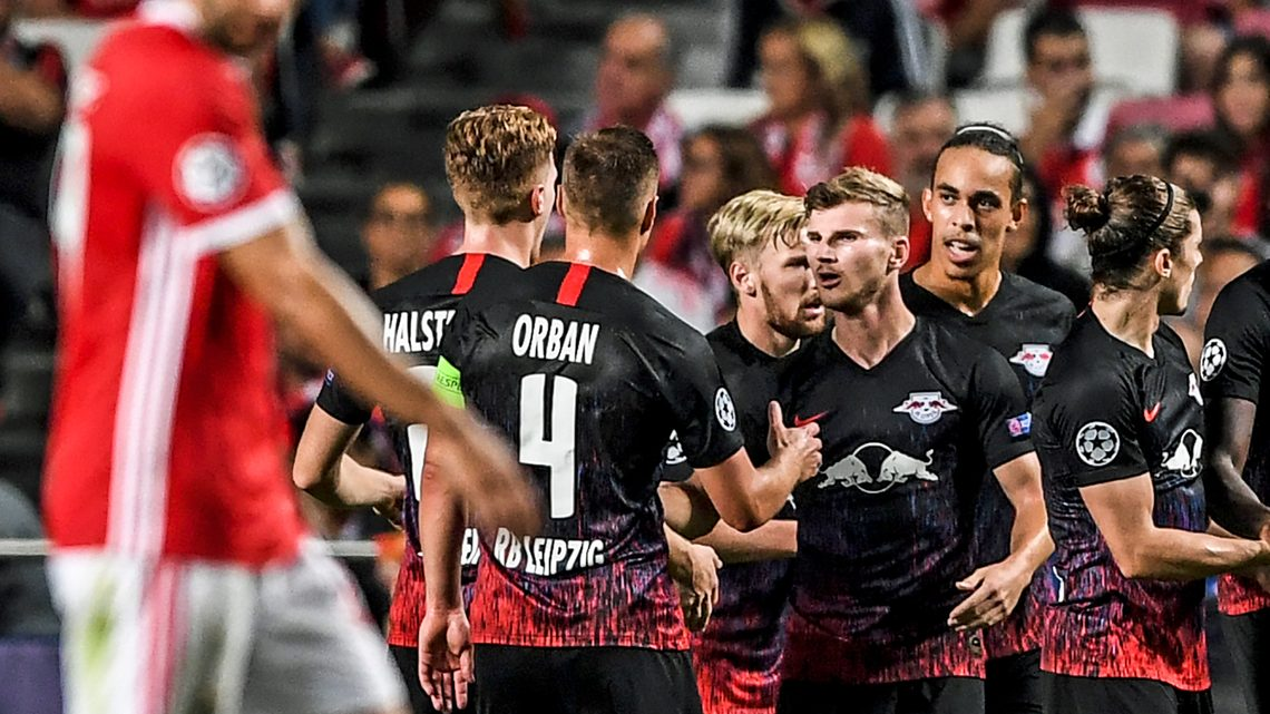 Bundesliga Timo Werner At The Double As Rb Leipzig Beat Benfica In Uefa Champions League Opener