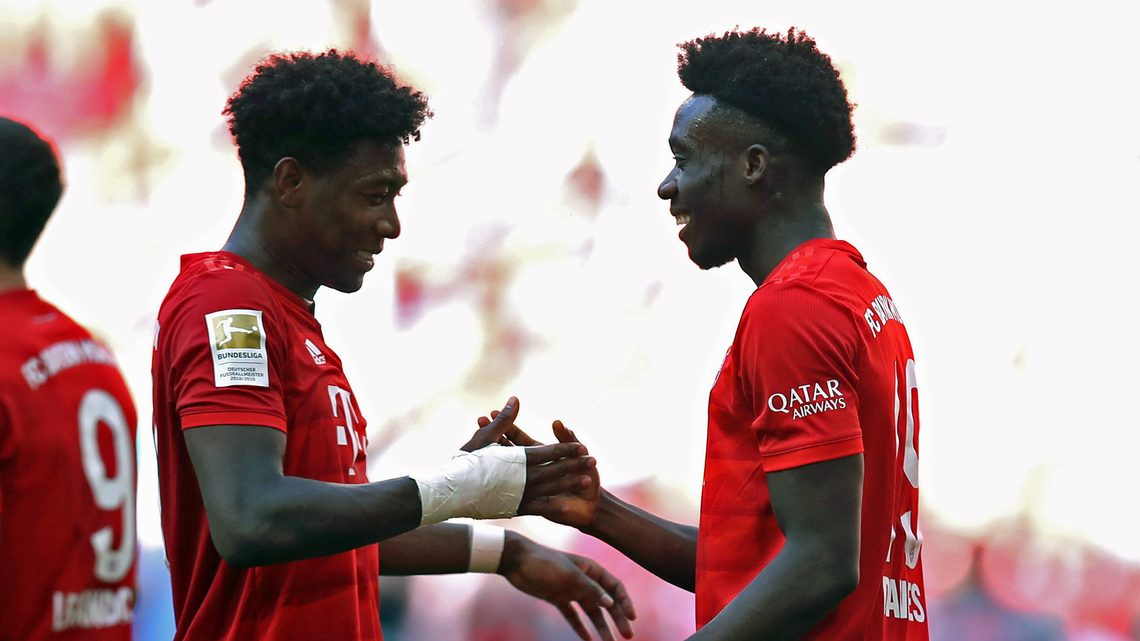 competitive price 46b3c 50cae Bundesliga | Why Alphonso Davies should cover for the ...